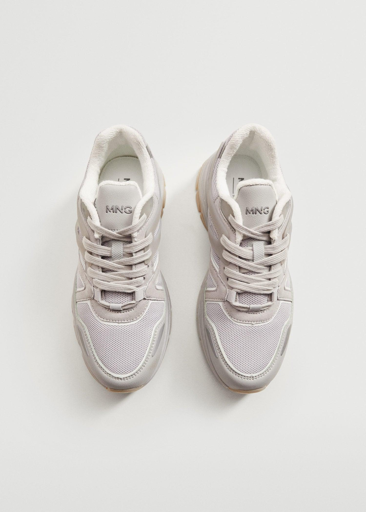 Track sole sneakers 3