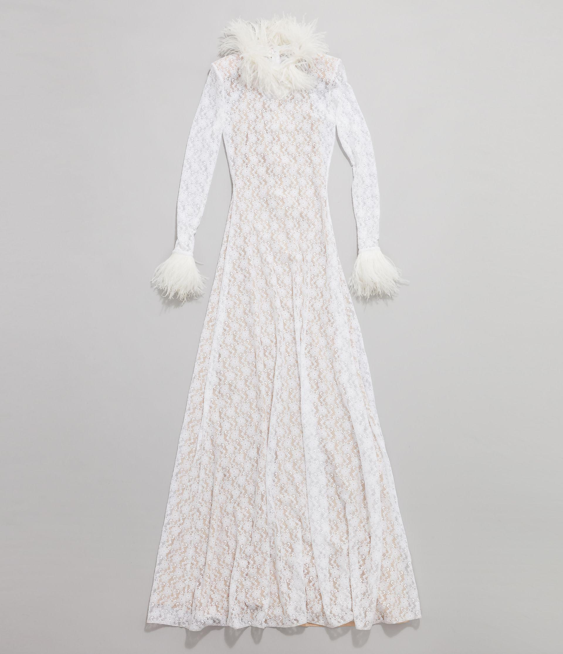 Christopher Kane Bridal: Lace Gown 3