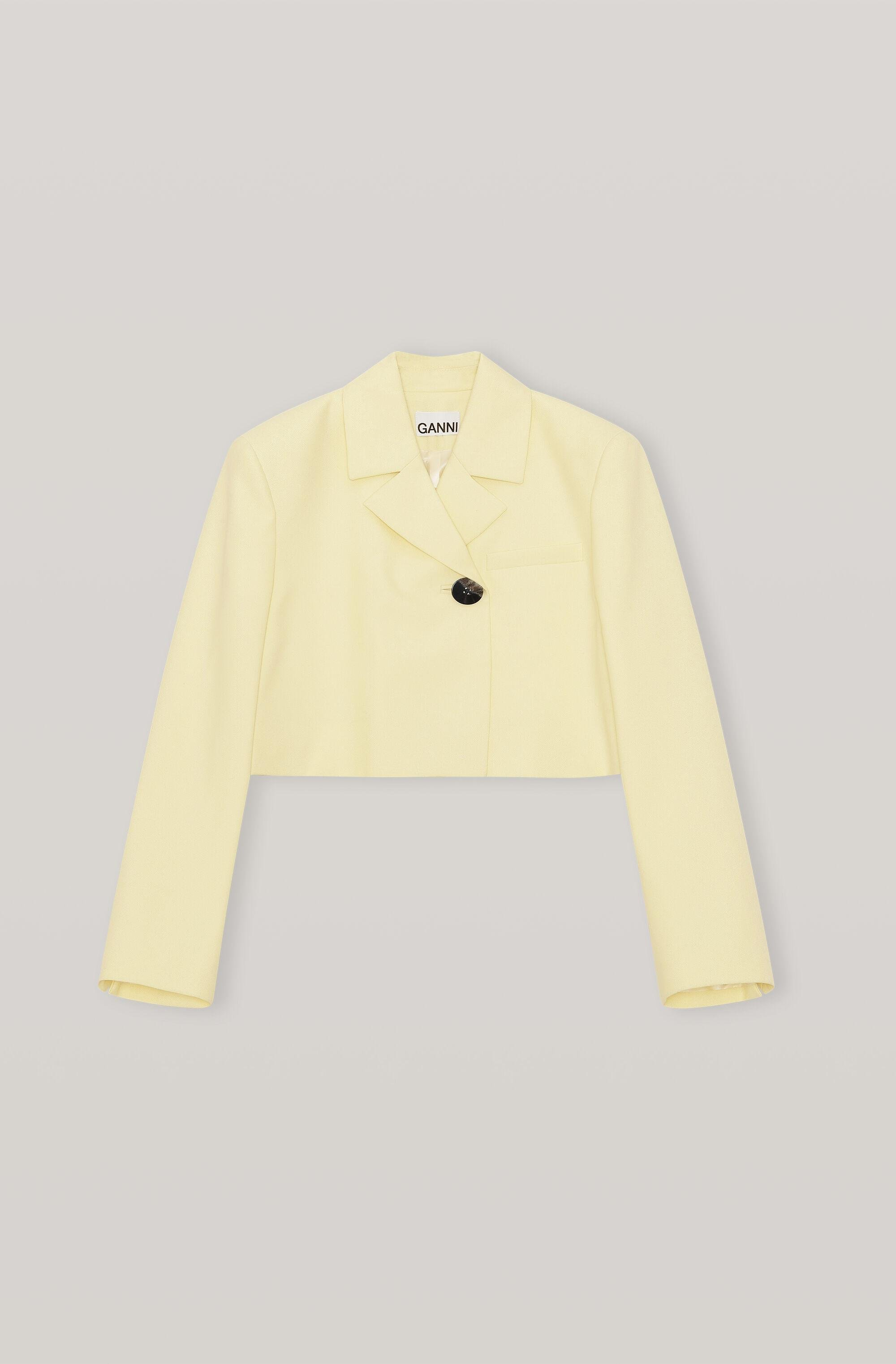 Summer Suiting Cropped Blazer 4