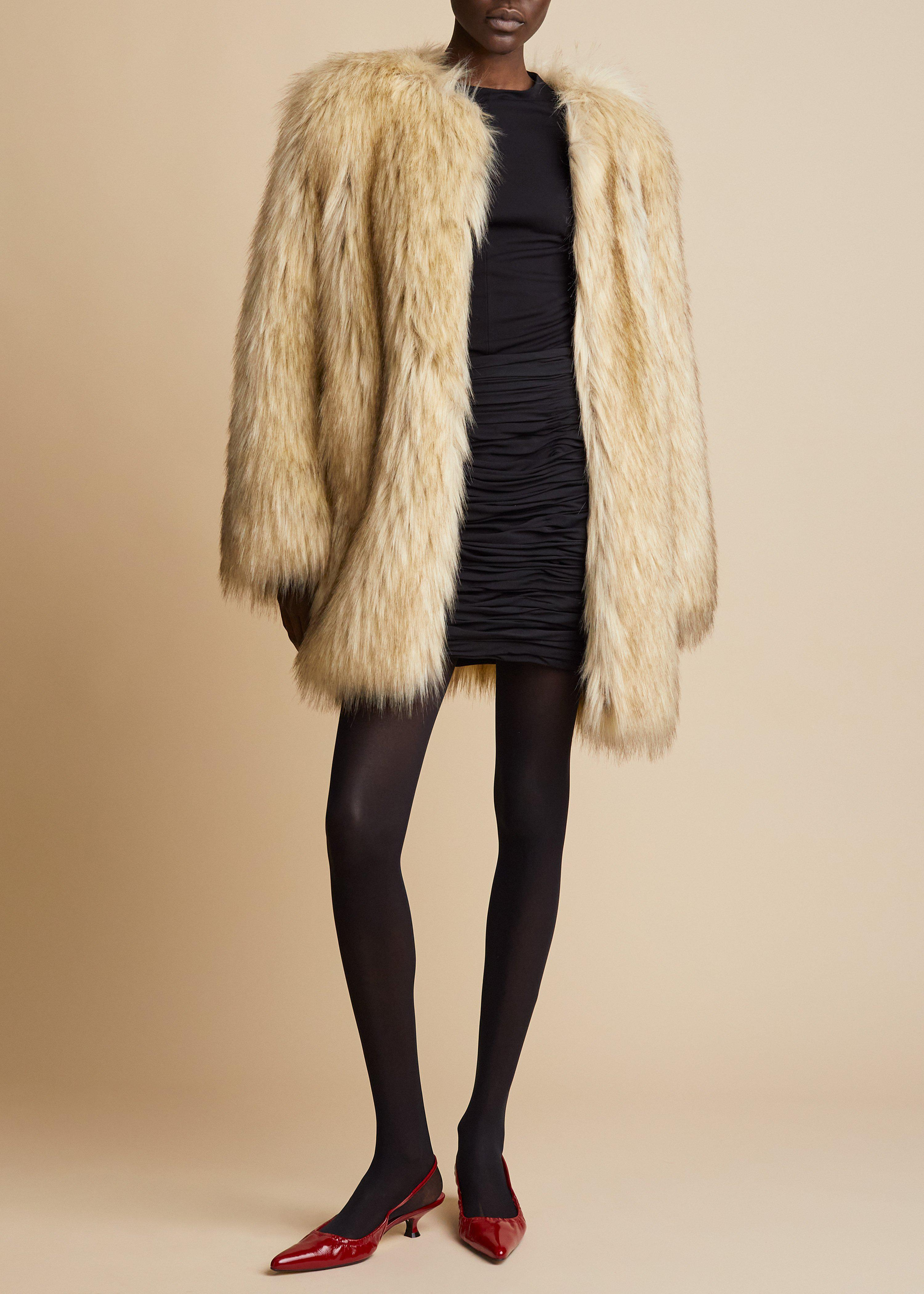 The Remy Coat in Natural