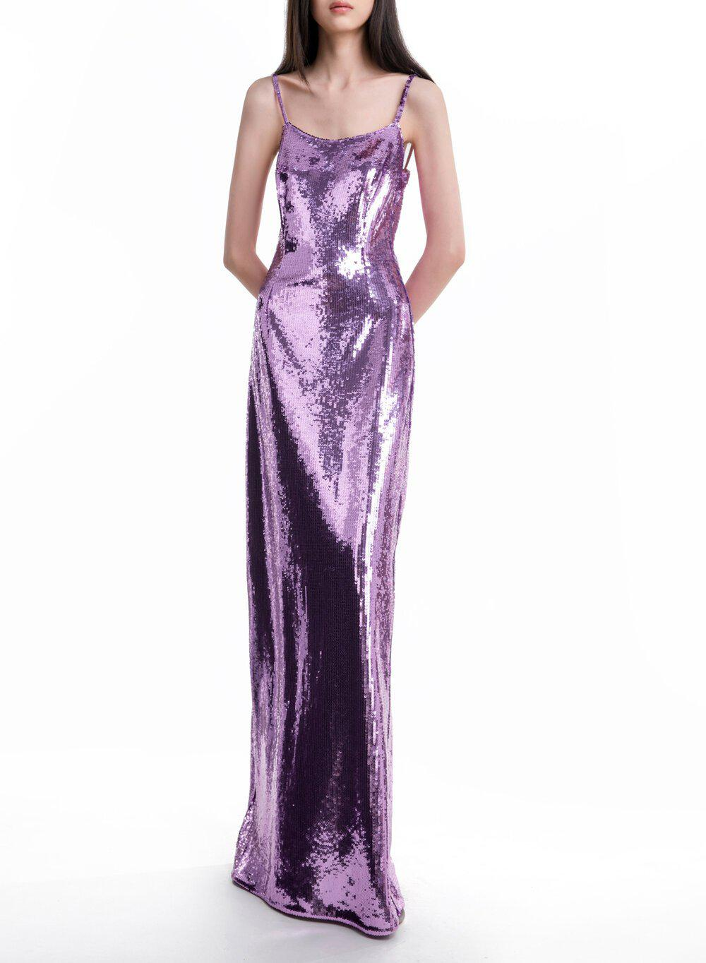 AURORA GOWN LILAC TULLE 4
