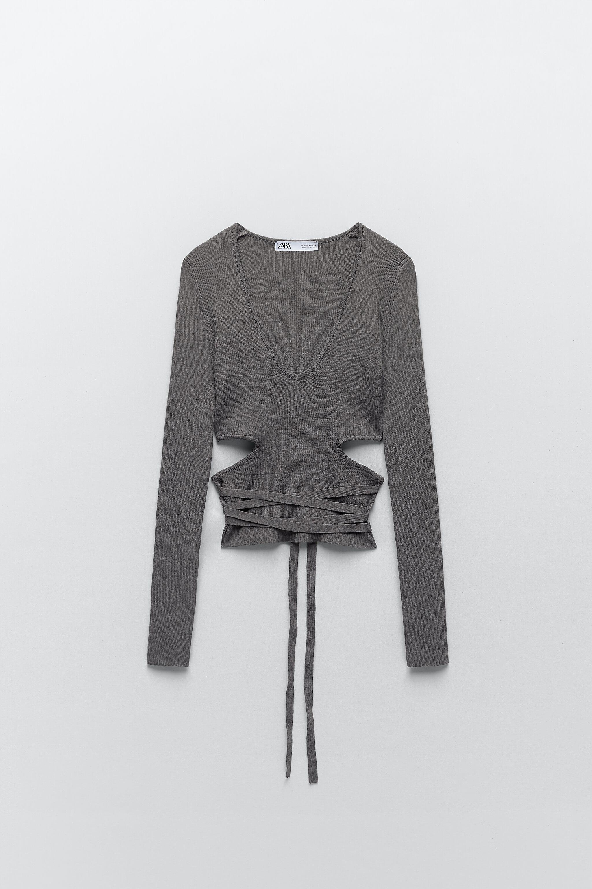 CUT OUT KNIT TOP 5