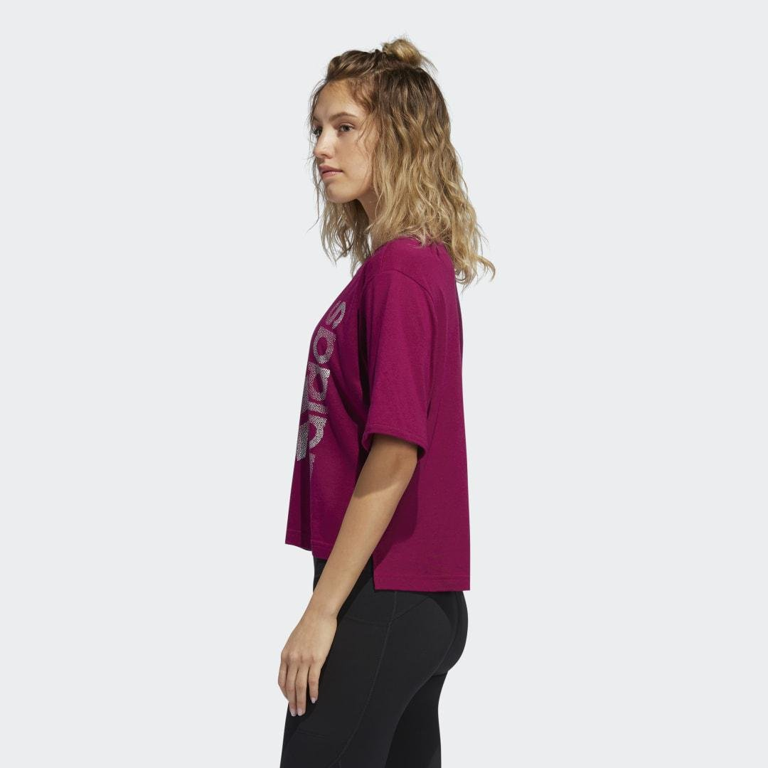 Holiday Tee Power Berry XL - Womens Training T Shirts 3