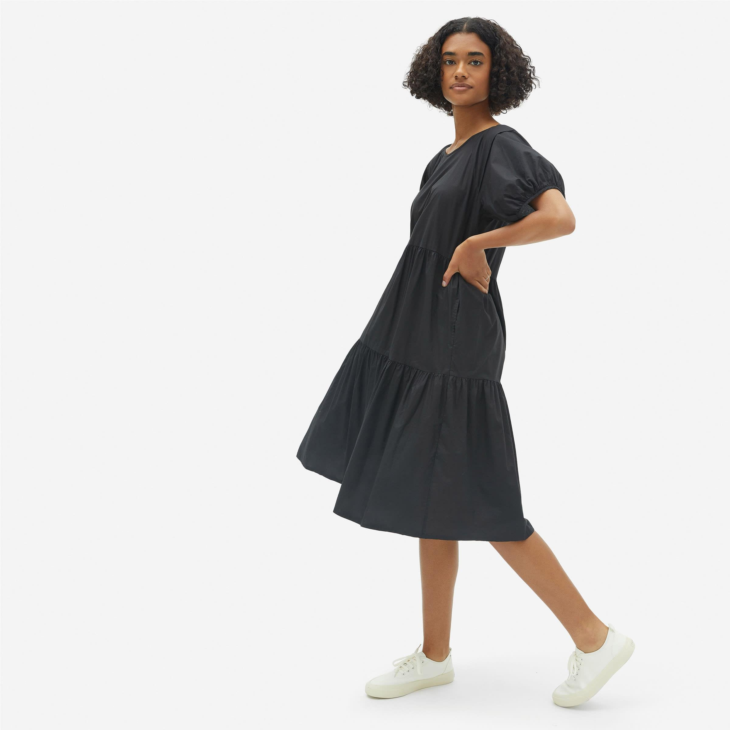 The Tiered Cotton Dress