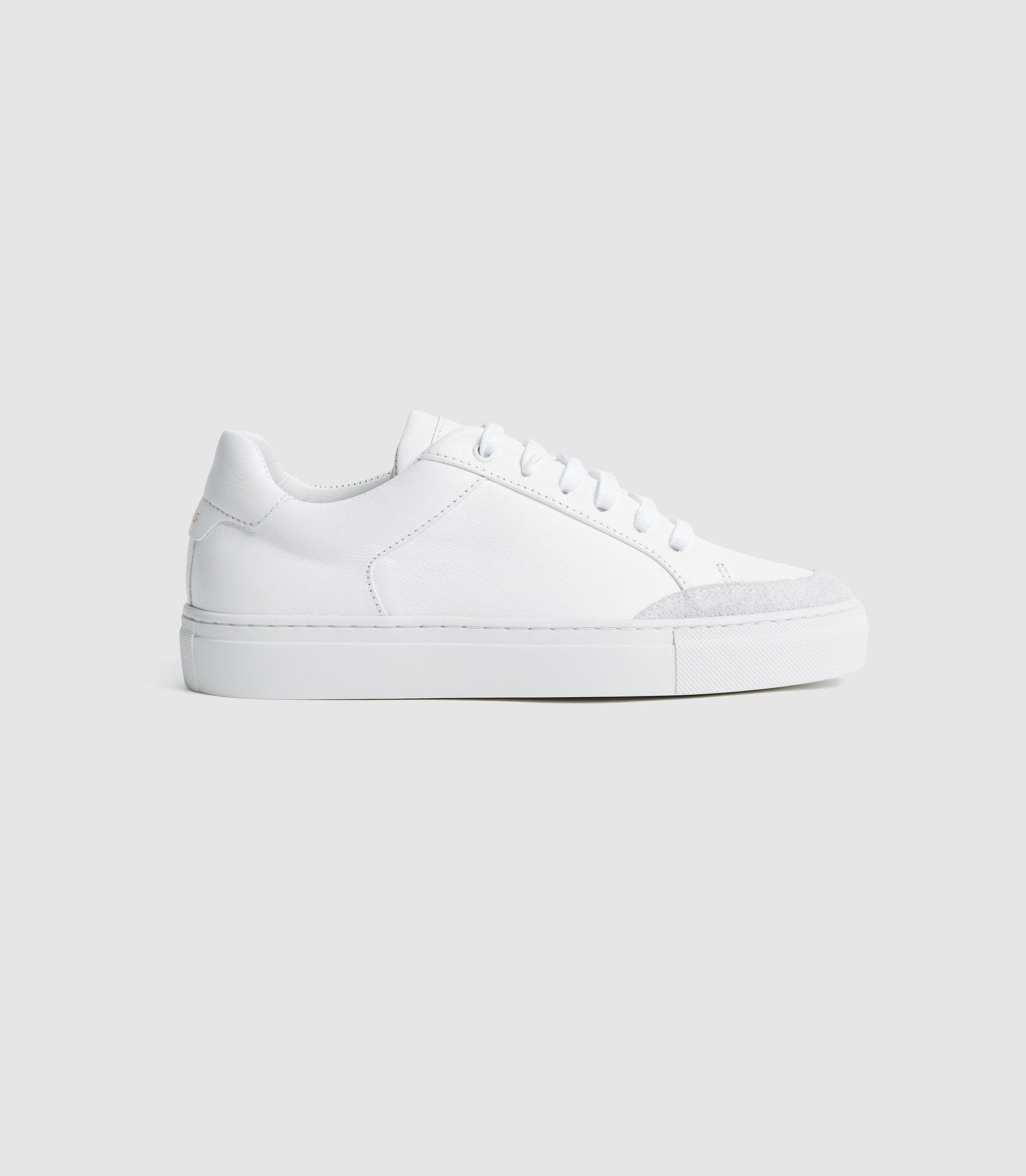 ASHLEY - LEATHER CONTRAST SOLE TRAINERS
