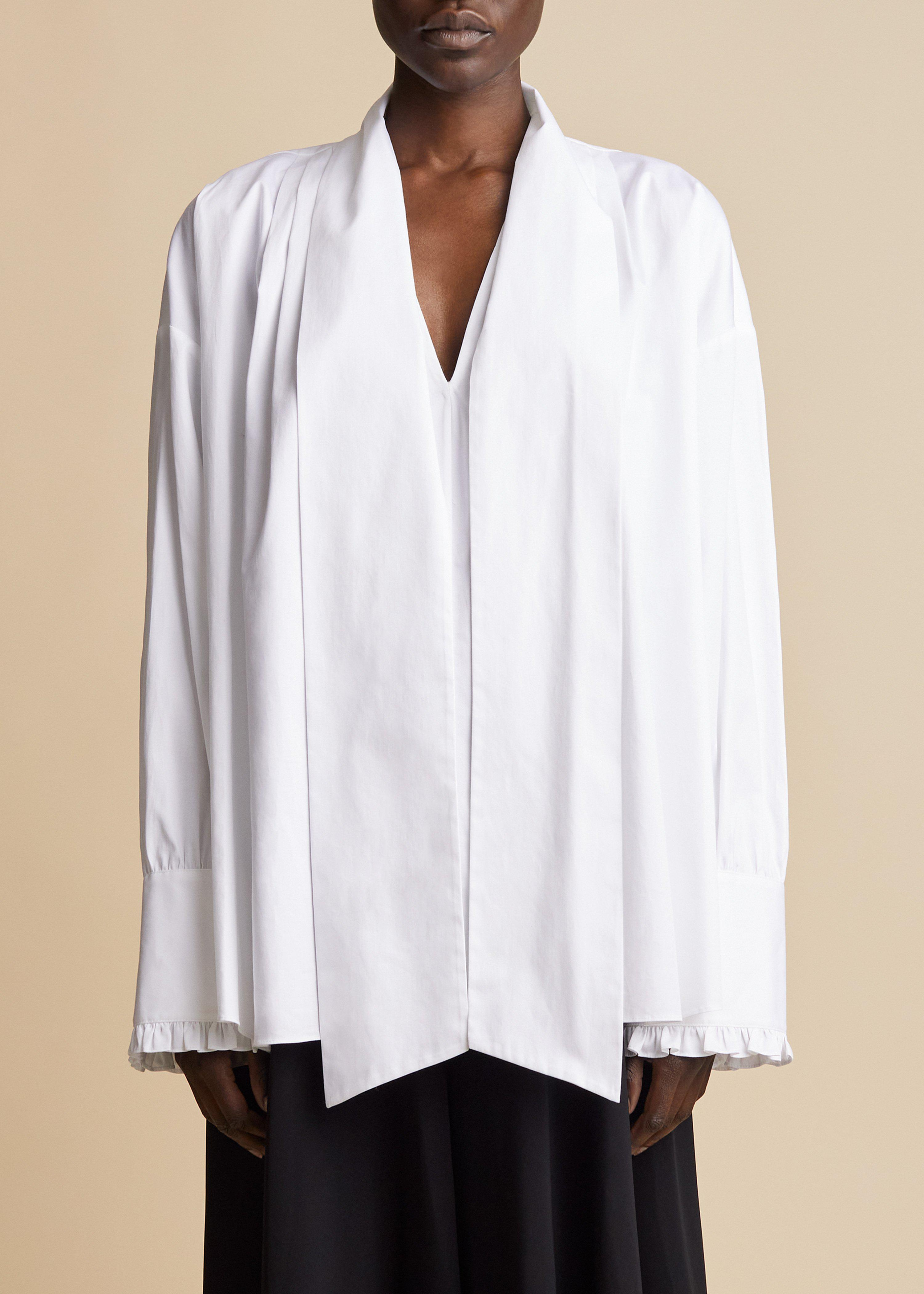 The Fran Top in White