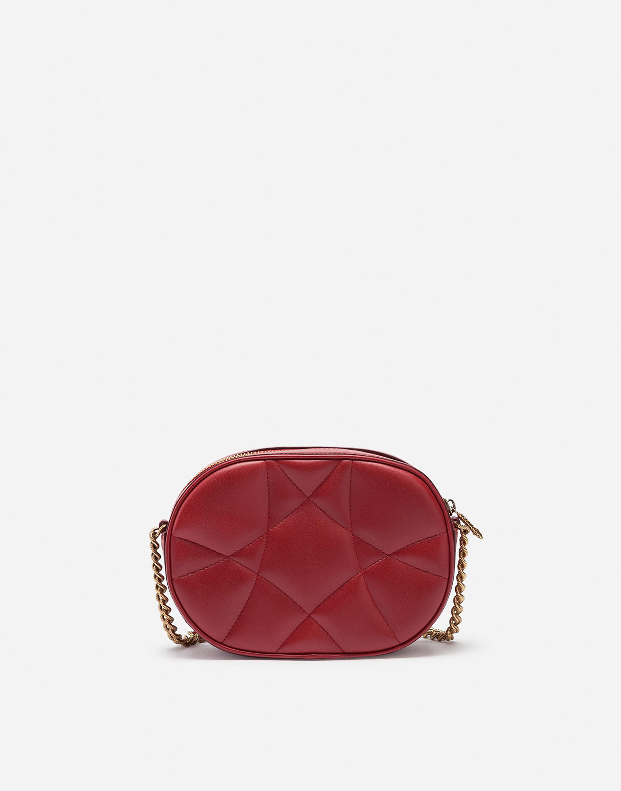 Devotion camera bag in quilted nappa leather 2