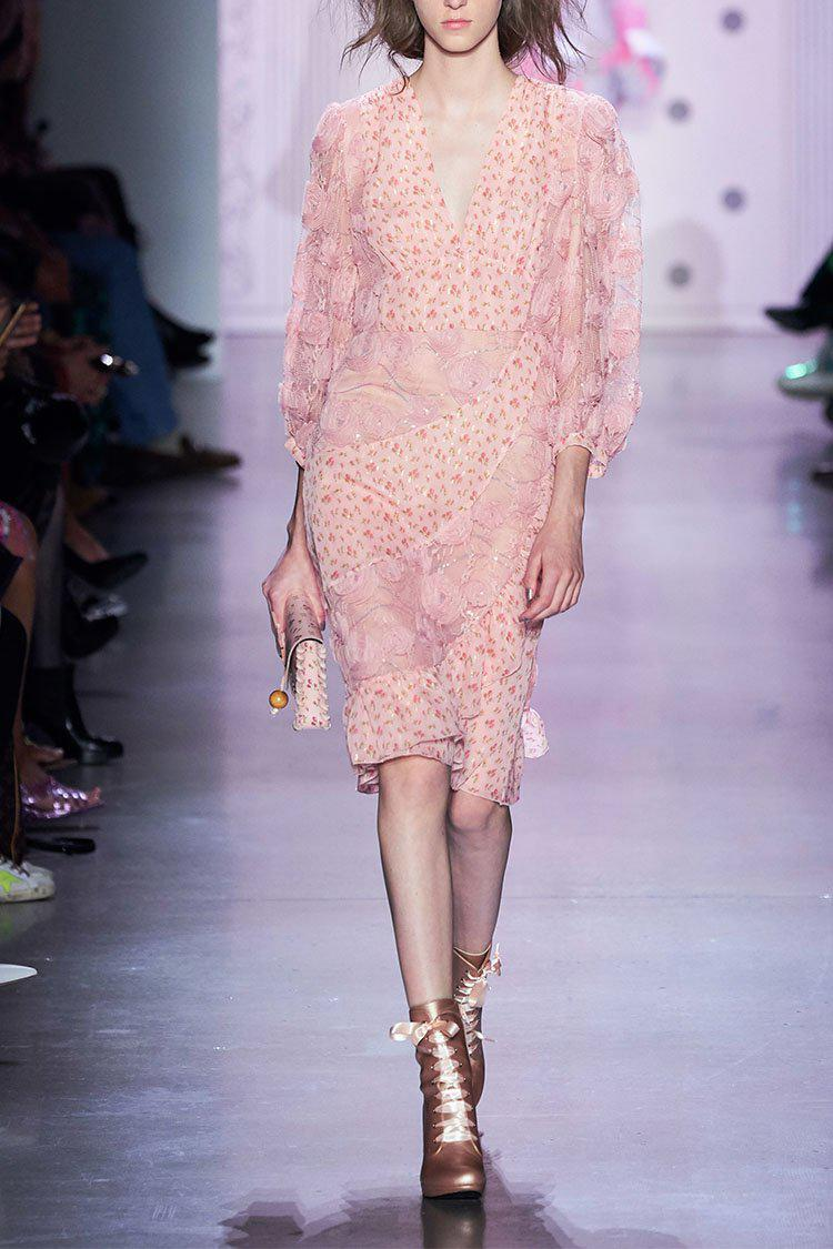 Embroidered Tulle Dress 1