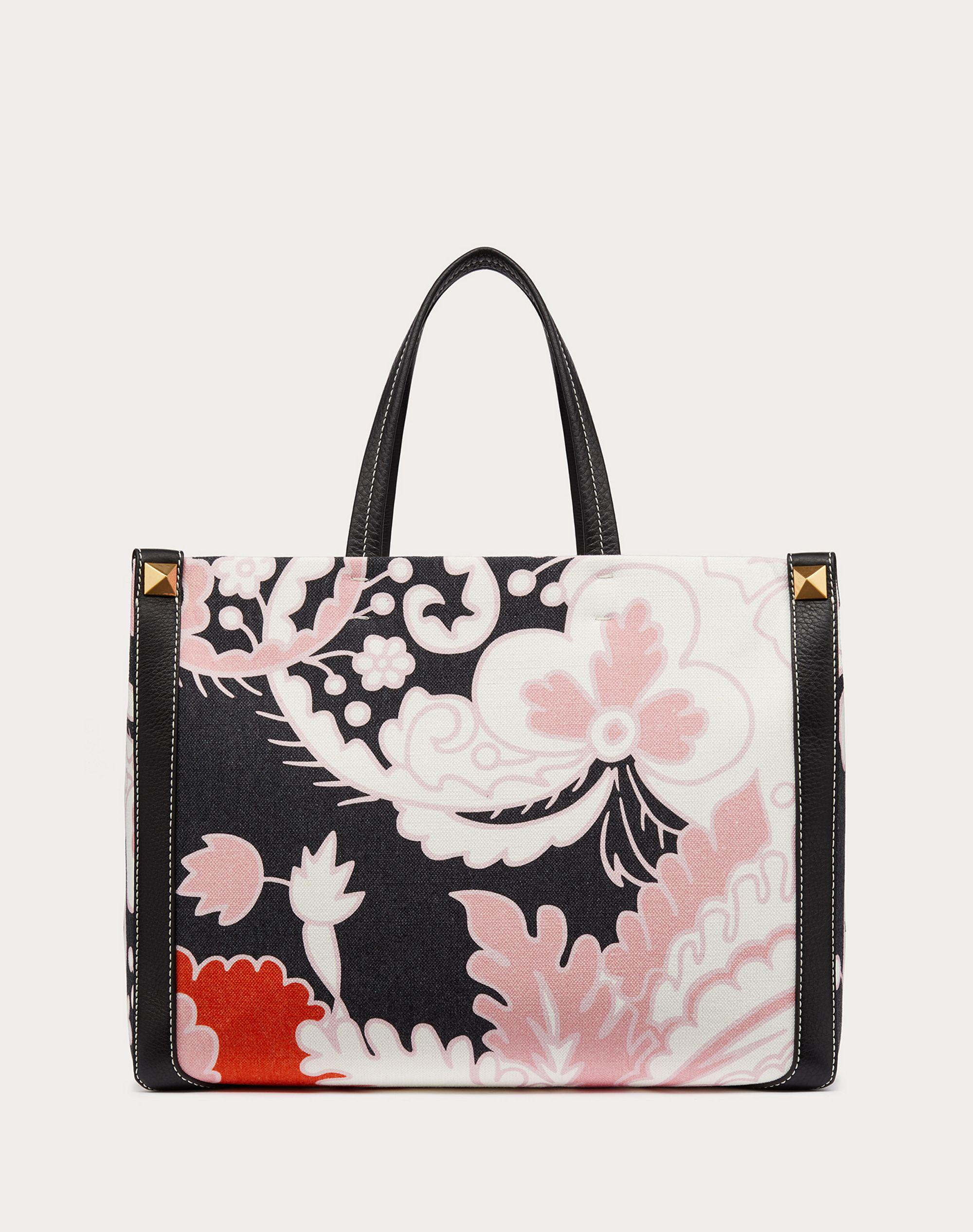 Small Canvas Tote Bag with Print