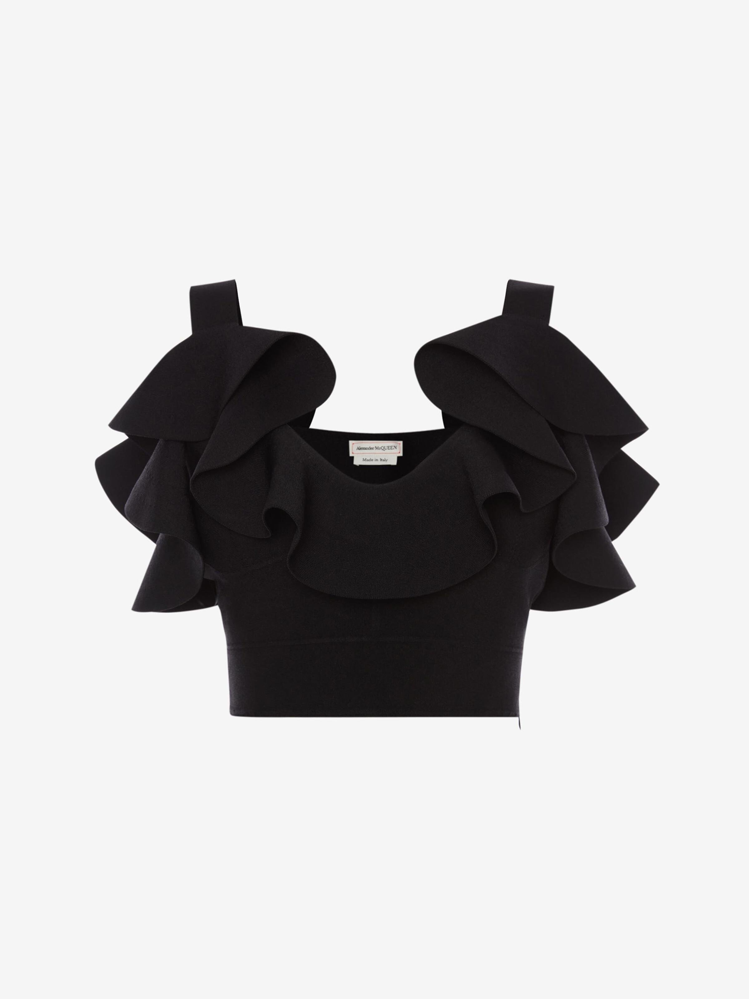 Engineered Sculpted Knit Top 3