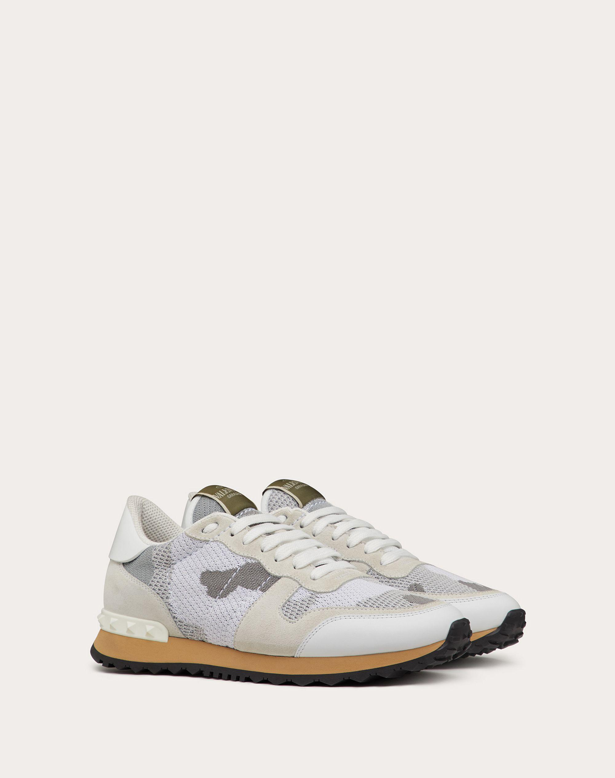 Mesh Fabric Camouflage Sneaker 1