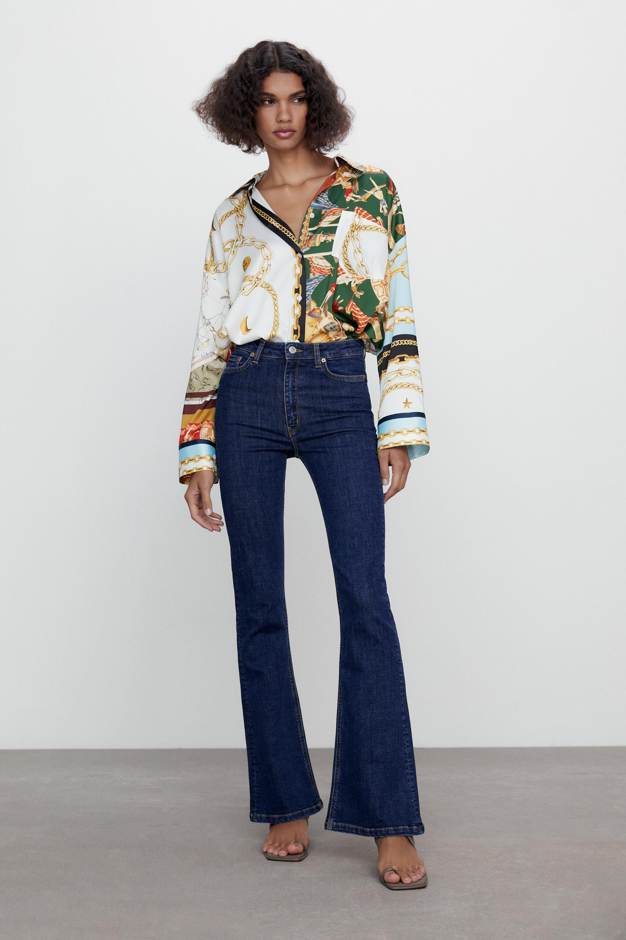 ZW THE SKINNY FLARE JEANS 0