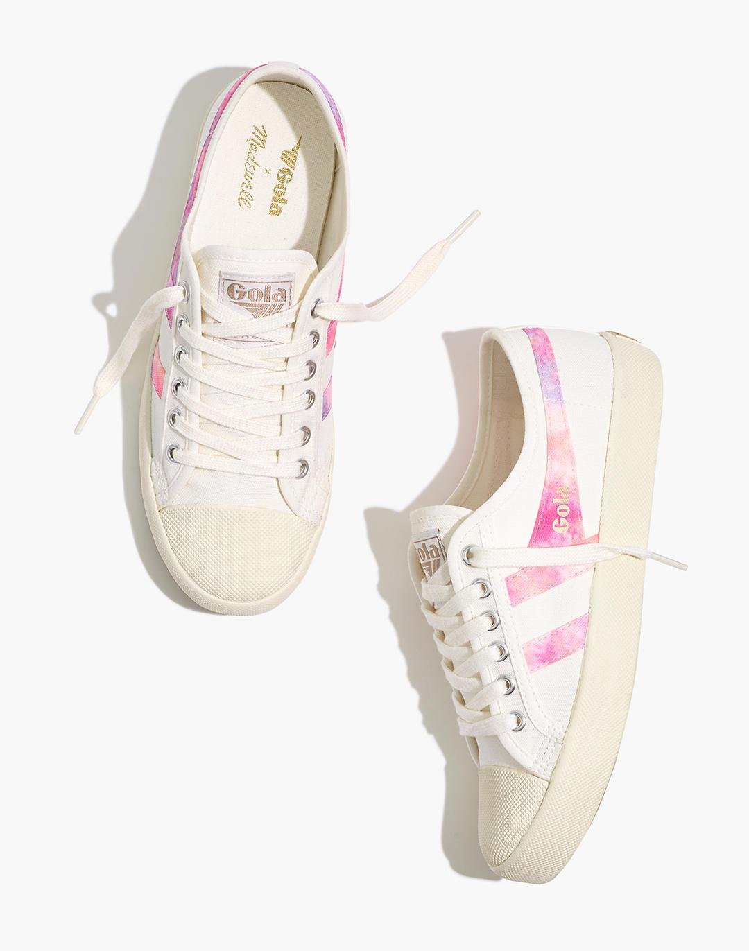 Madewell x Gola Classics® Canvas Coaster Sneakers in Tie-Dye