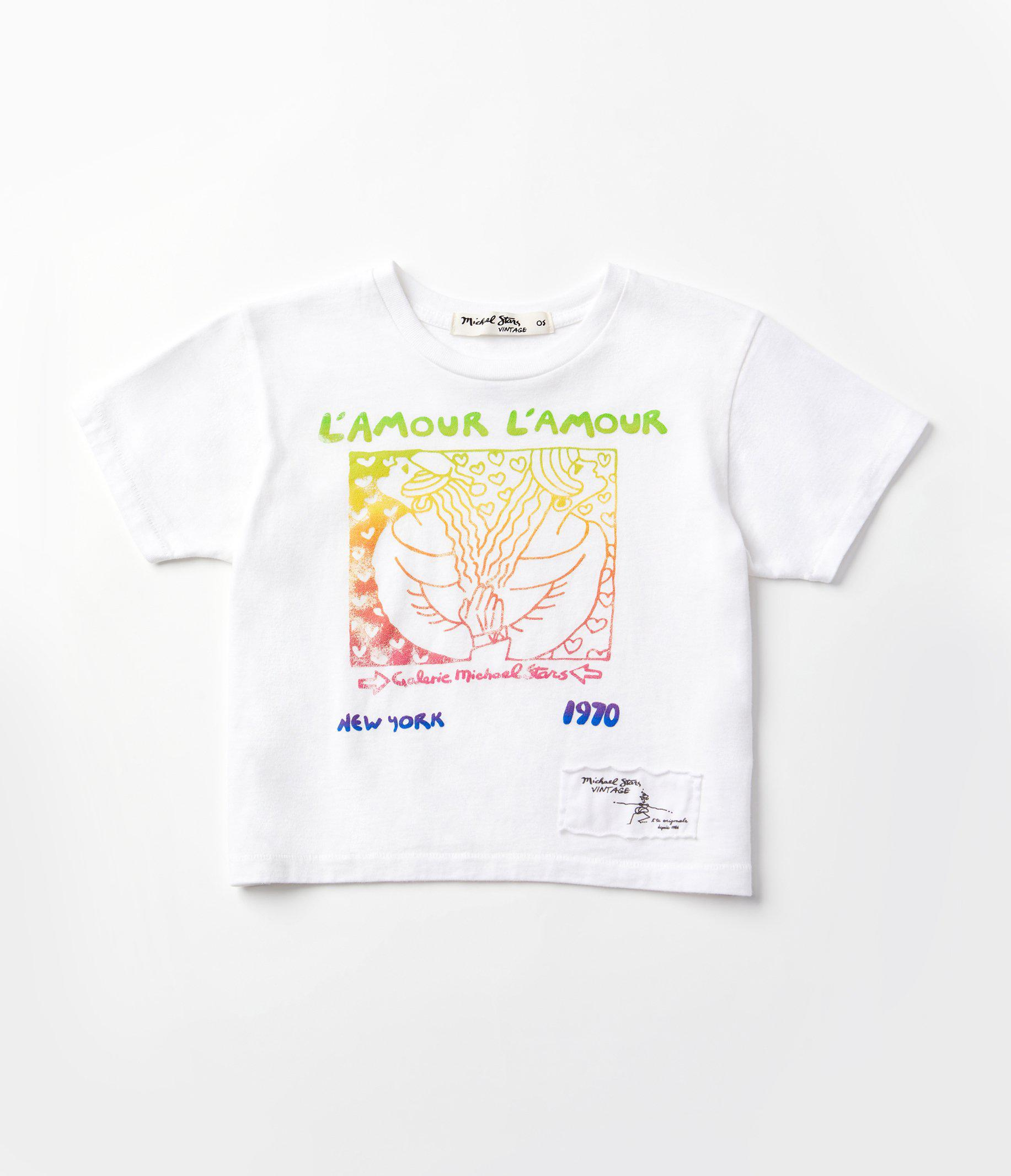 Vintage Baby Tee: L'Amour
