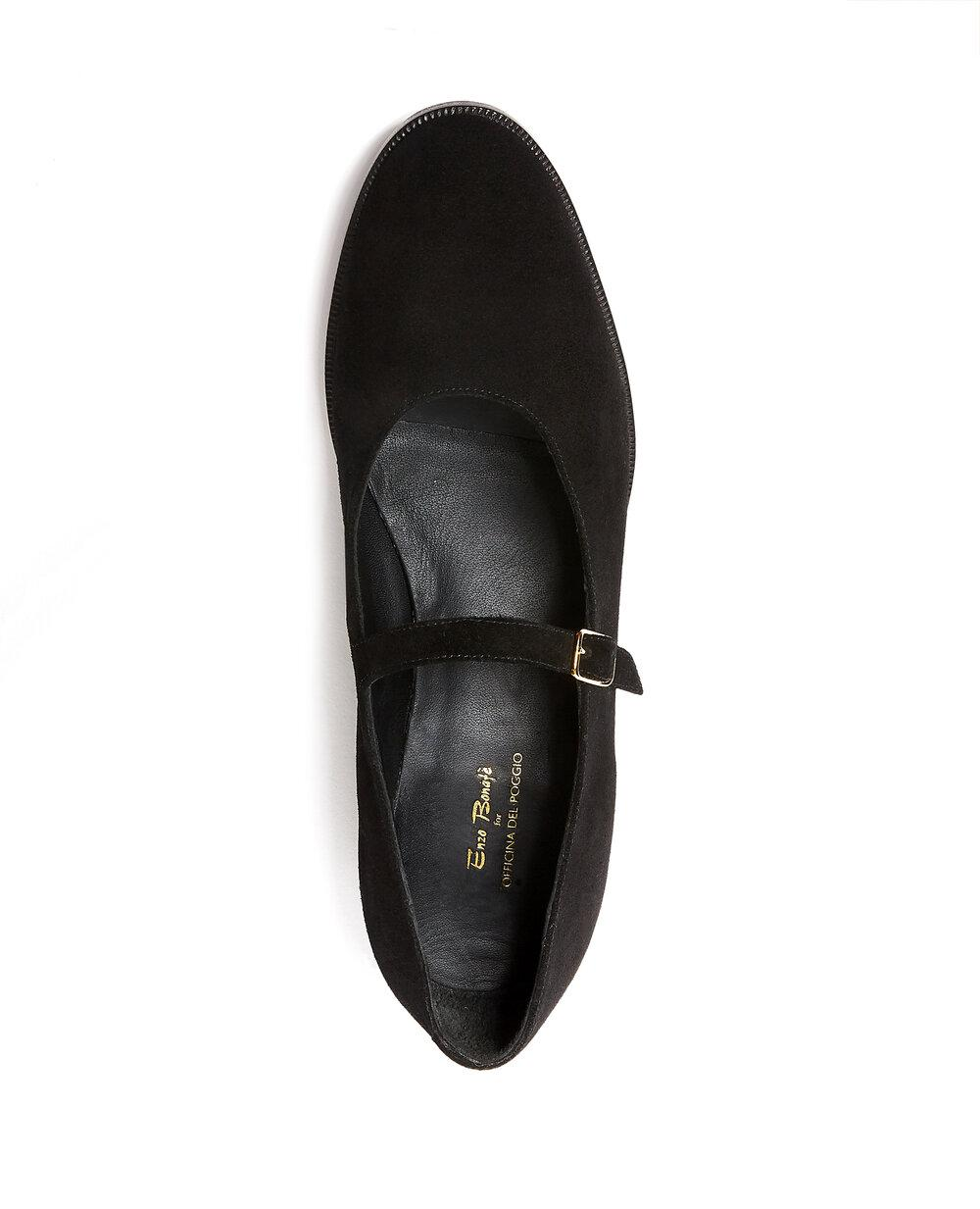 ODPEssentials Classic Mary Jane - Black Suede 2