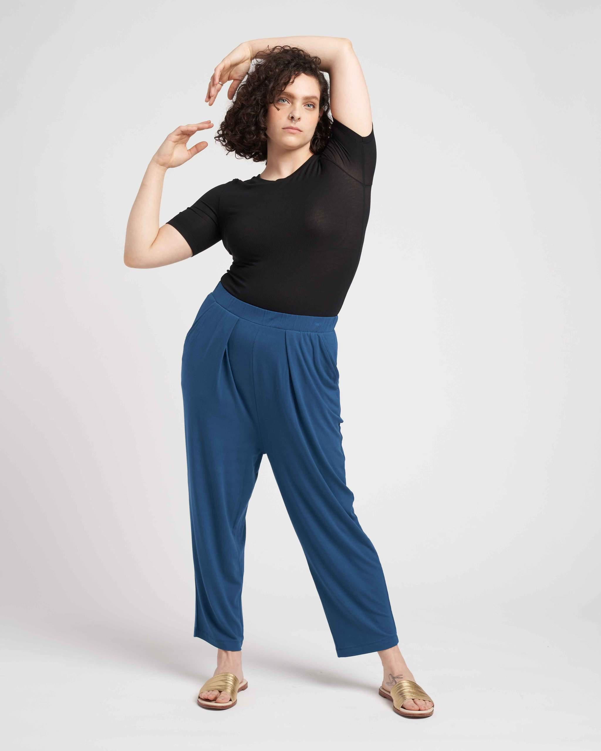 Lucy Relaxed Jersey Pants 1