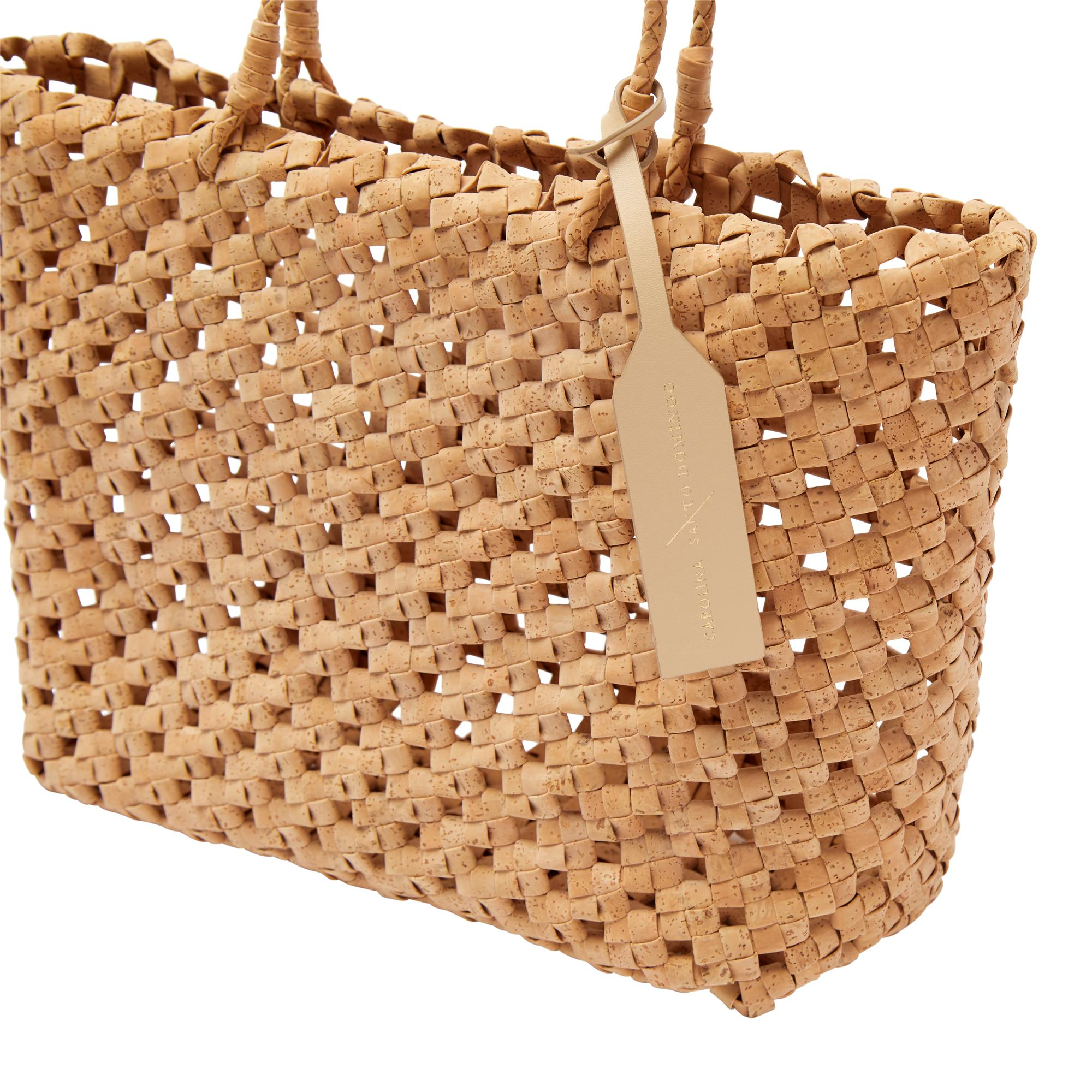 Vegan Cork Knotted Tote 3