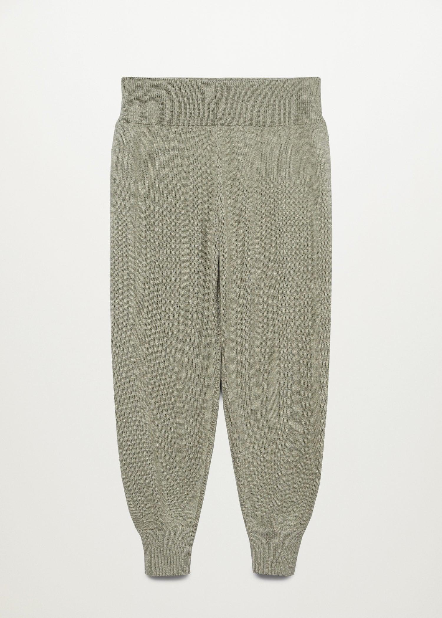 Baggy knit trousers 7