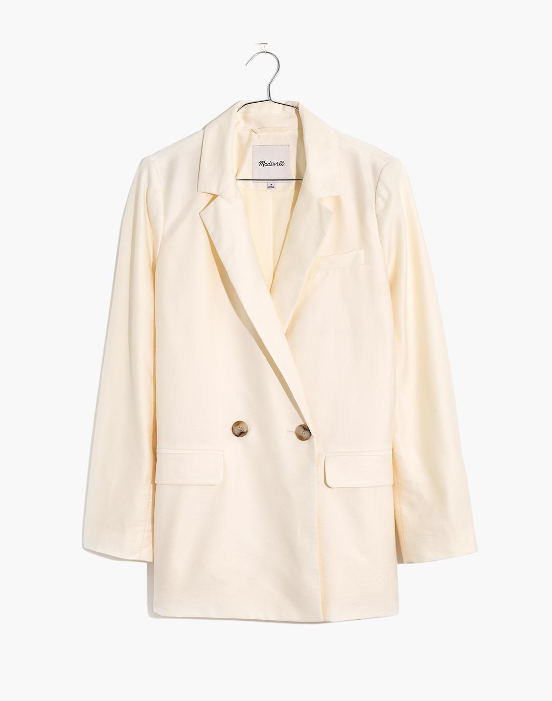 Plus Caldwell Double-Breasted Blazer: Two Button Edition 1