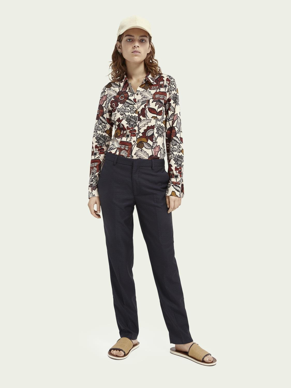 Lowry tailored slim-fit trousers ─ Night 1