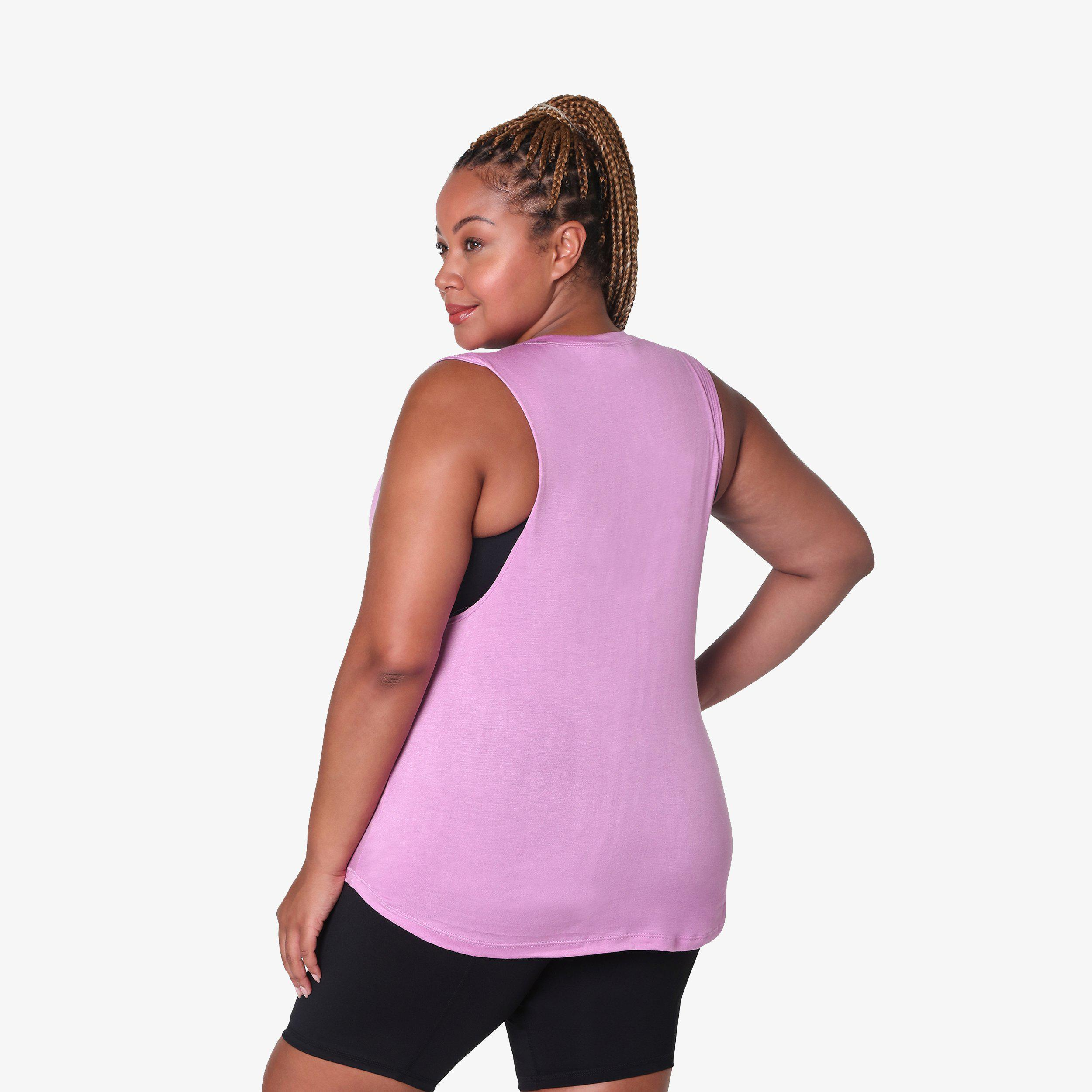 Muscle Tank - Lilac 1