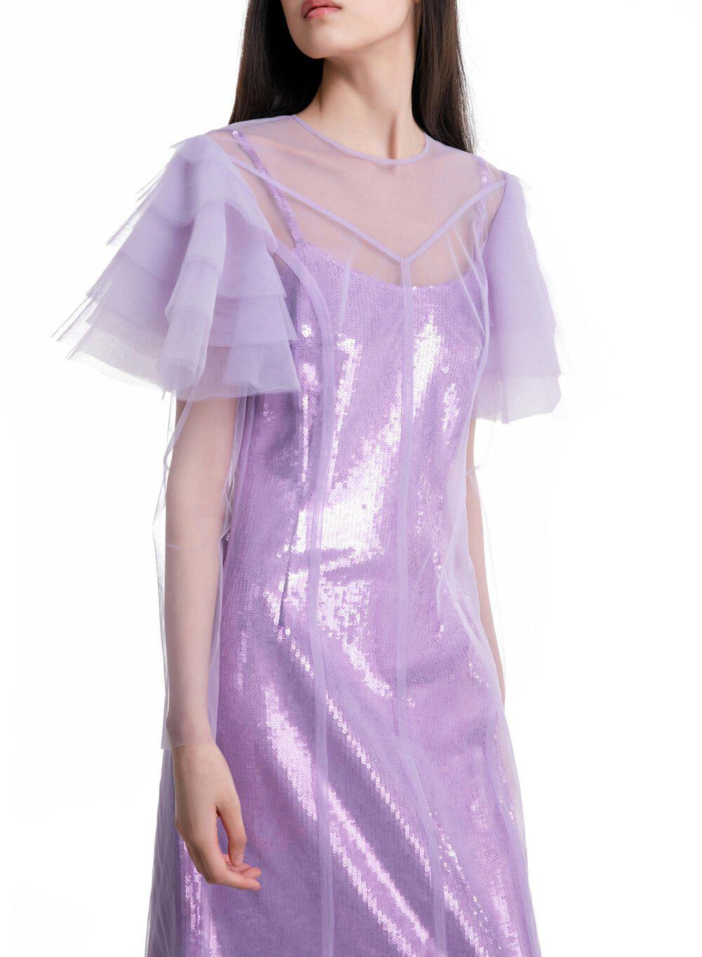 AURORA GOWN LILAC TULLE