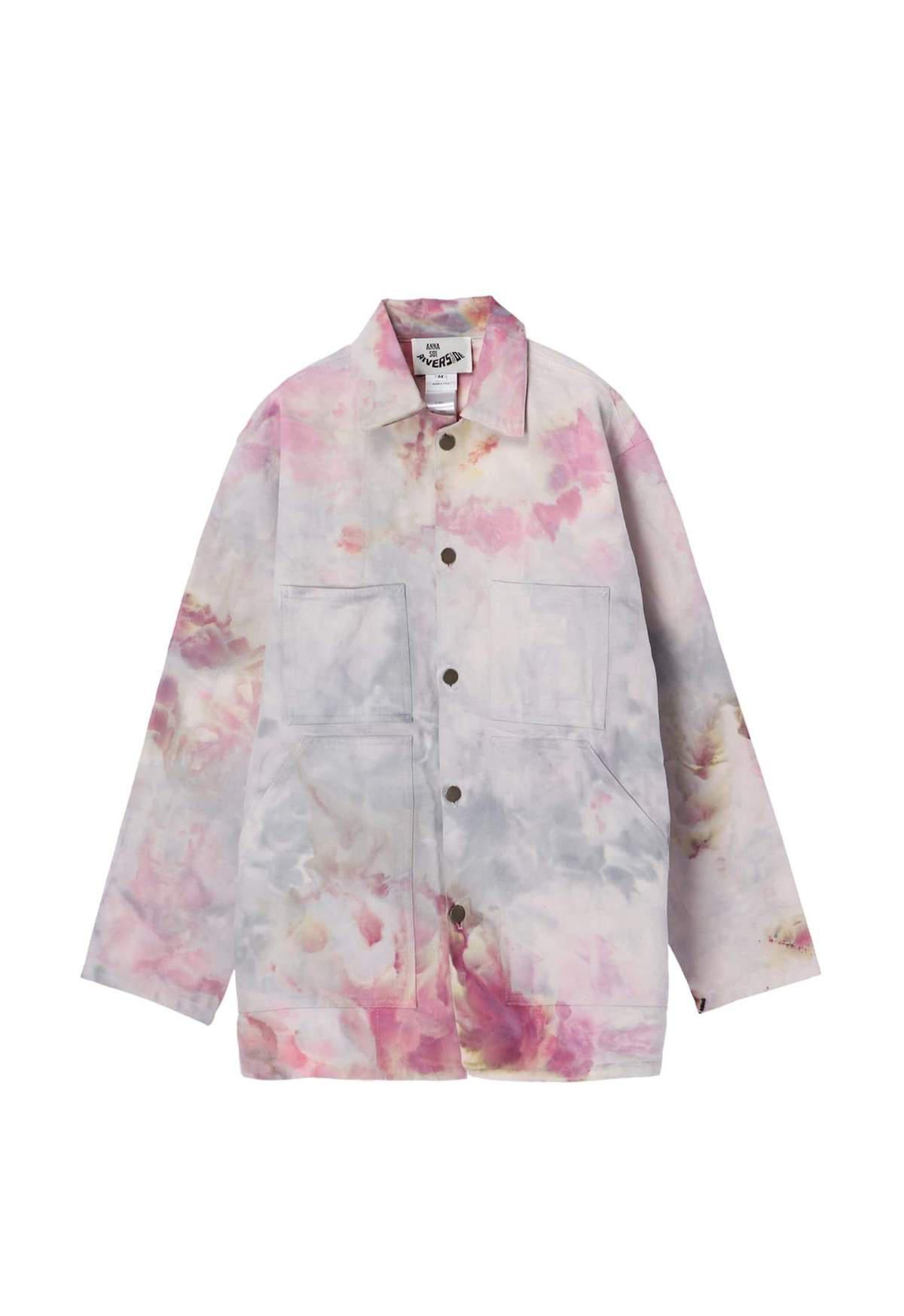 Hand Tie Dyed Vintage Dead Stock Jacket 8