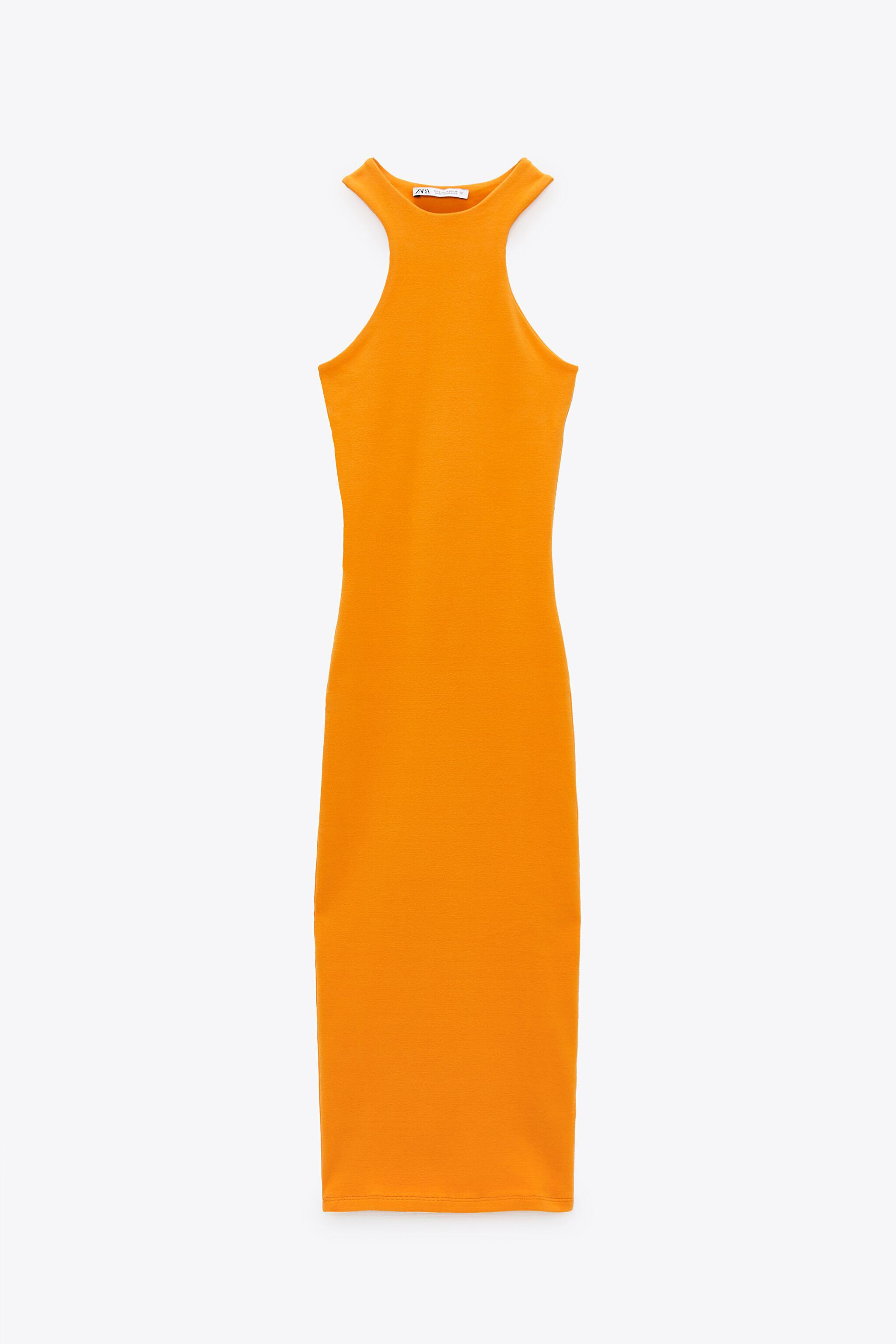FITTED HIGH NECK DRESS