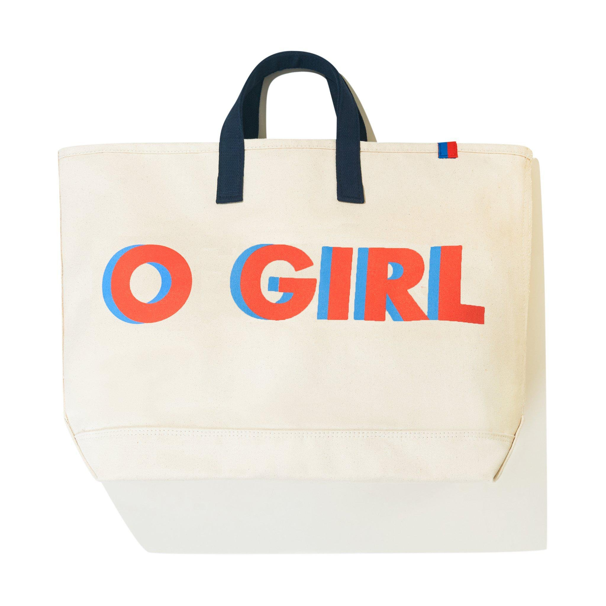 The O GIRL Tote - Canvas