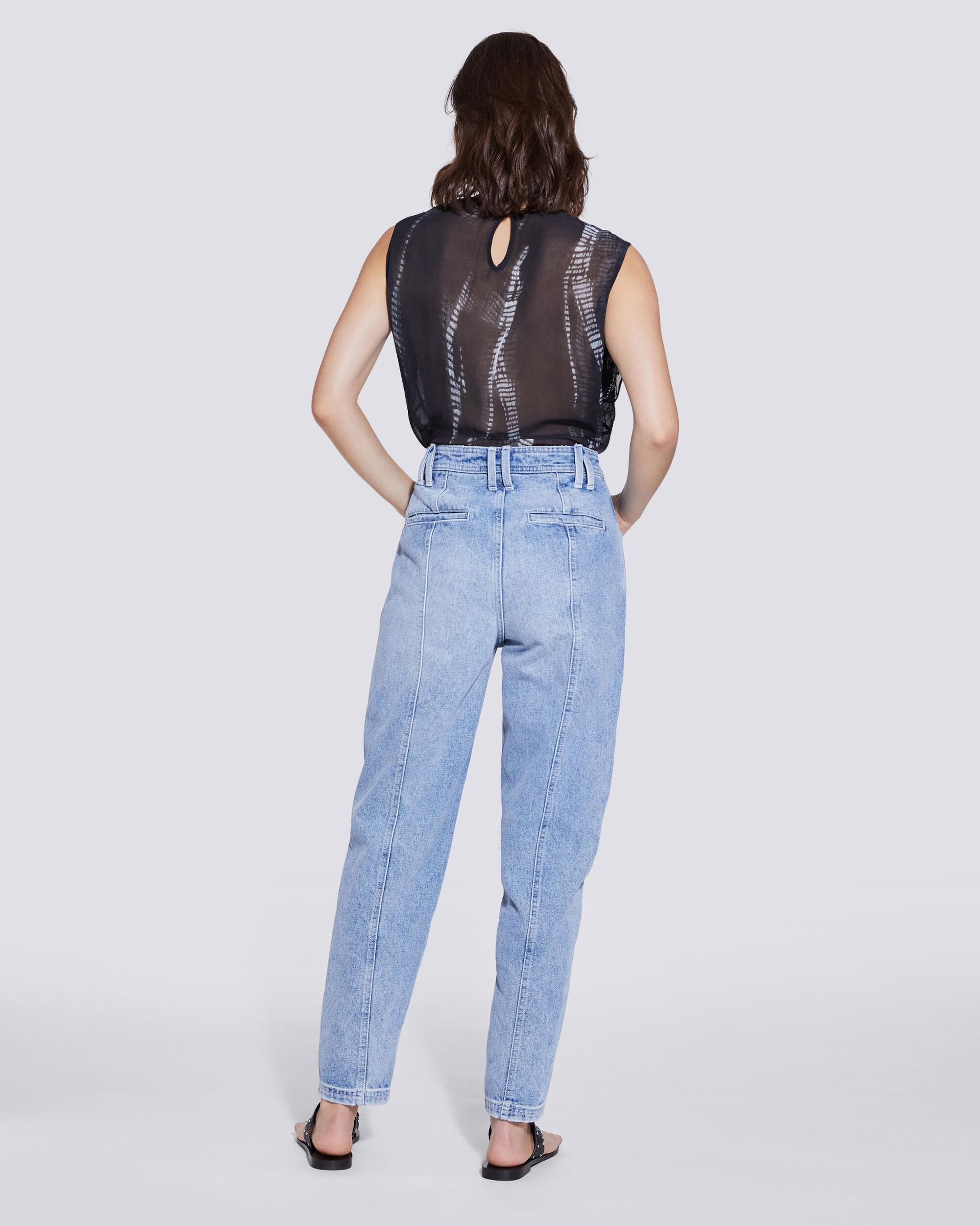 ORIONIS RELAXED HIGH RISE STRAIGHT LEG JEANS 2