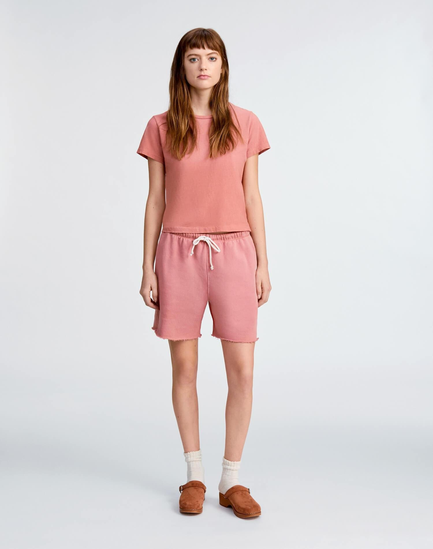 Heritage Cotton Classic Tee - Faded Clay 1