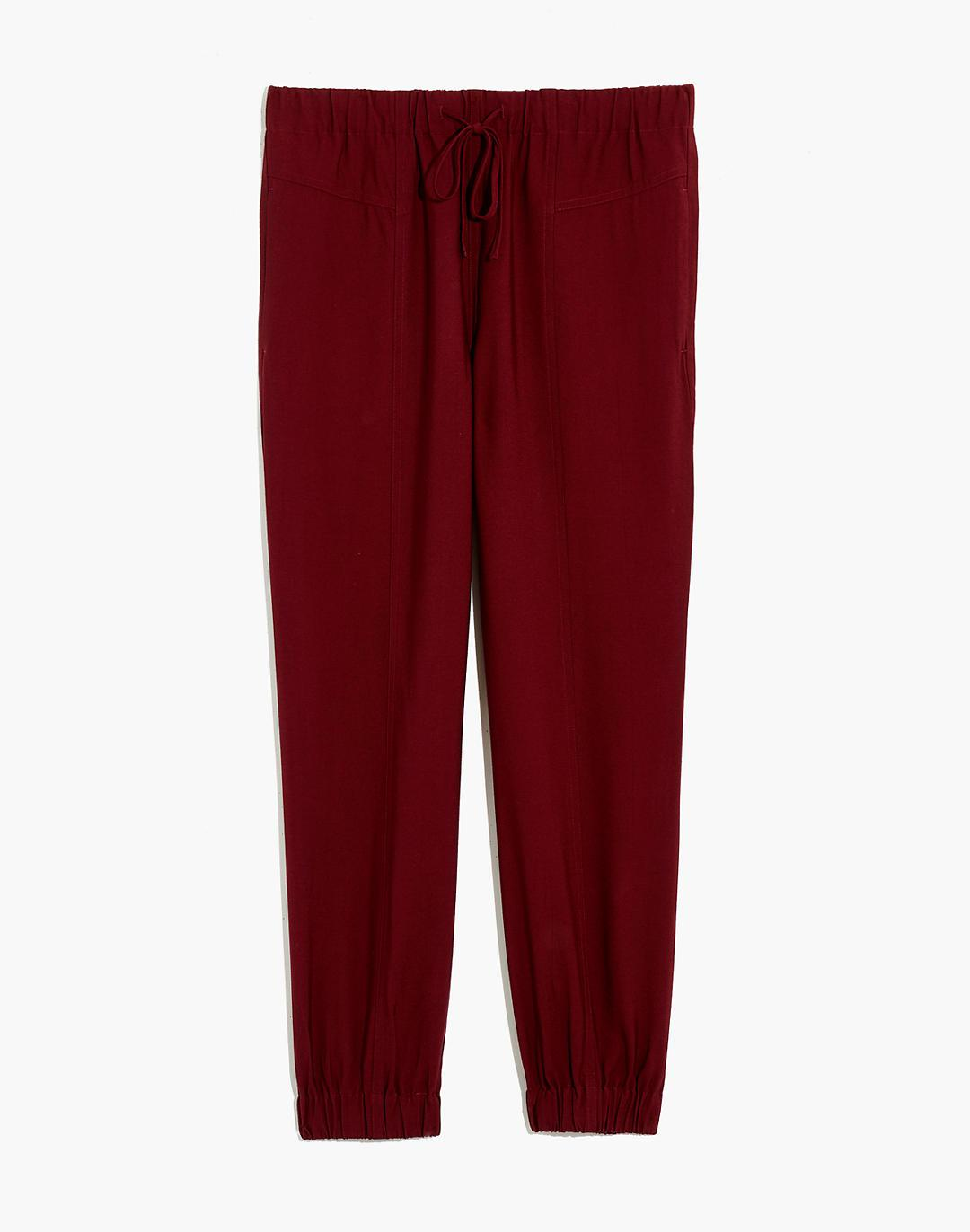 Drapey Seamed Track Trousers 4
