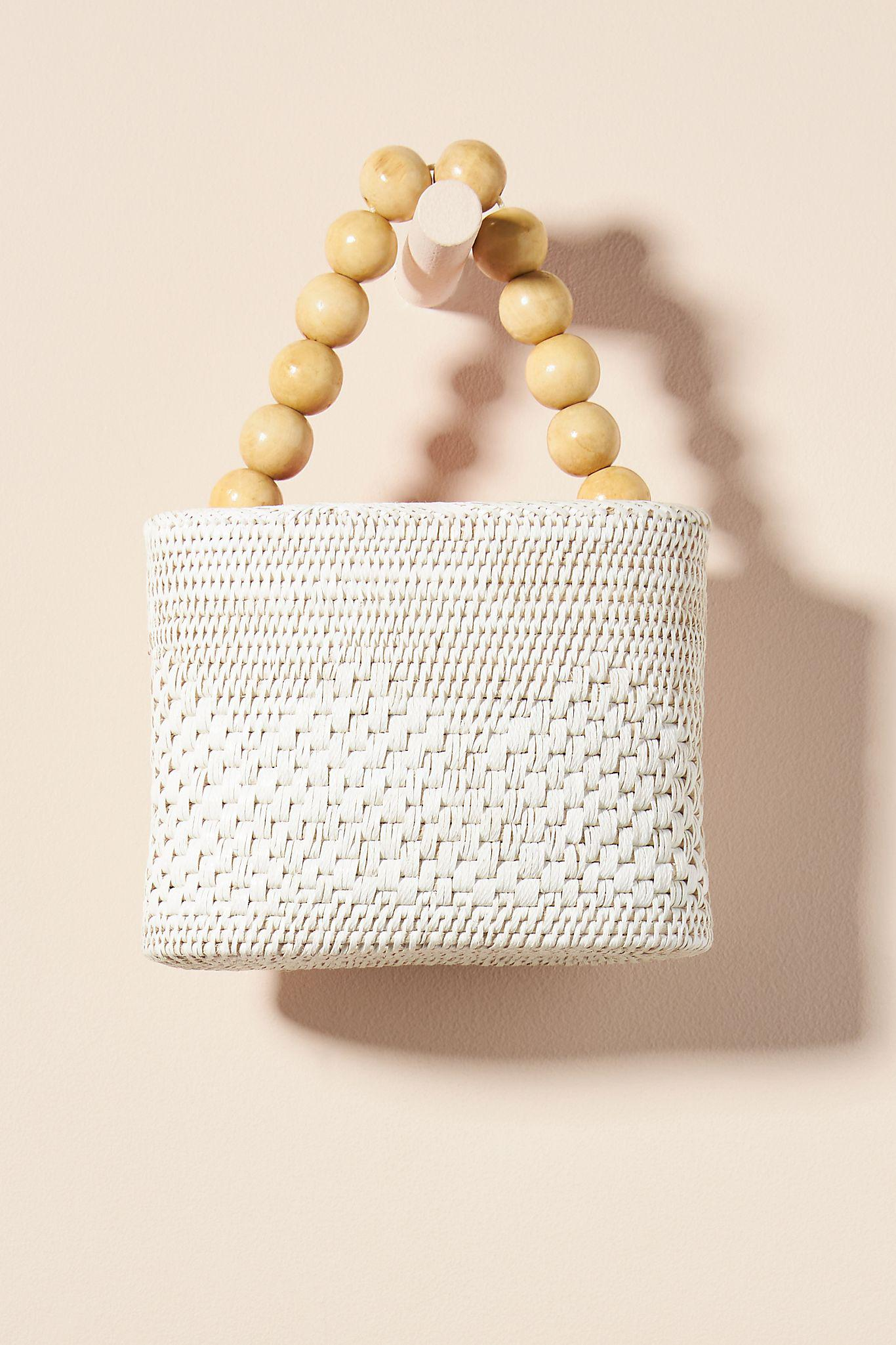 Meredith Woven Clutch