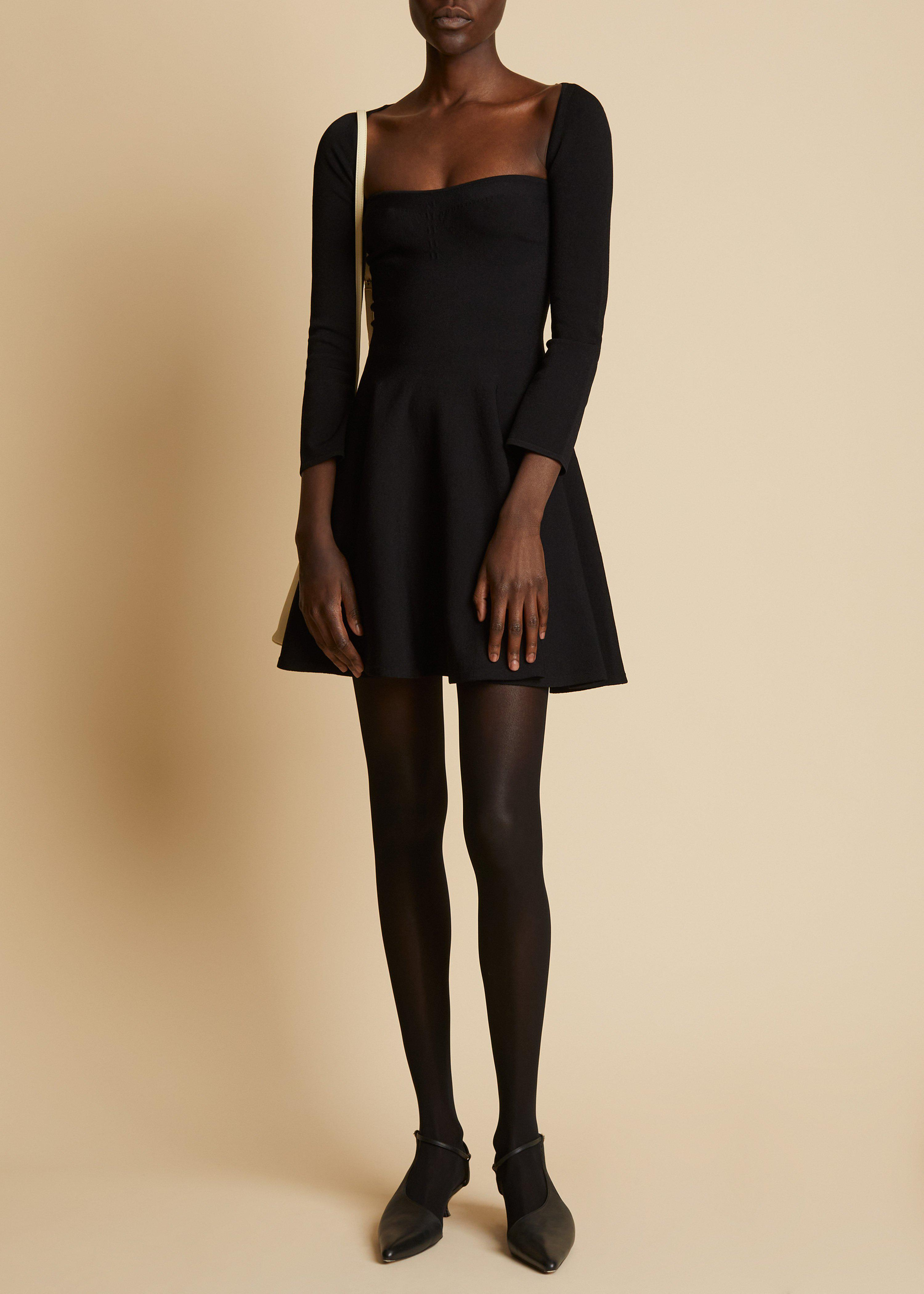 The Dylan Dress in Black