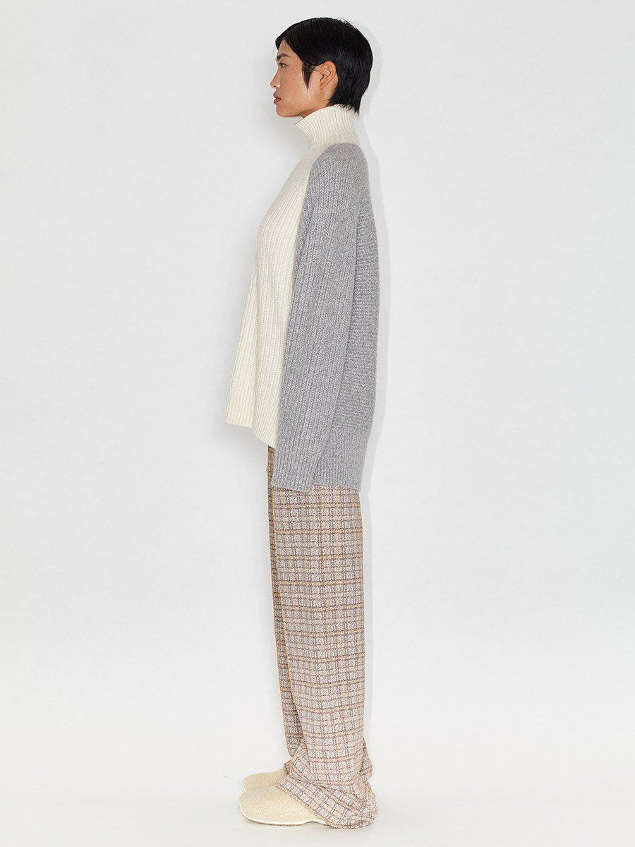 Inverted Cable Turtleneck 2