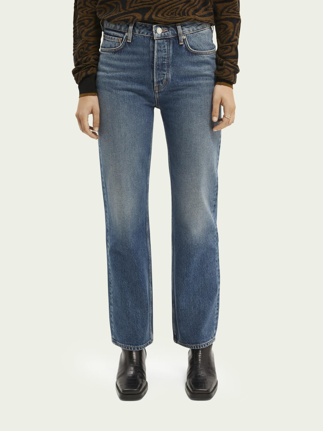 The Sky high-rise straight-fit jeans — Take A Break