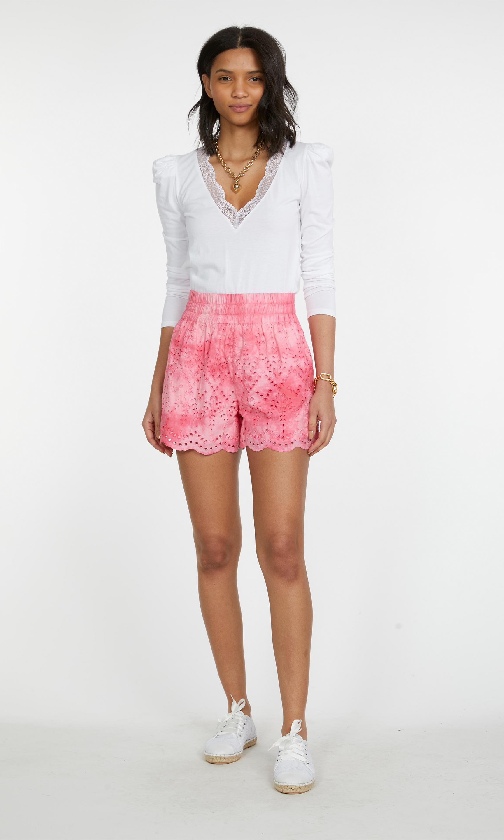 Ferris Embroidered Shorts