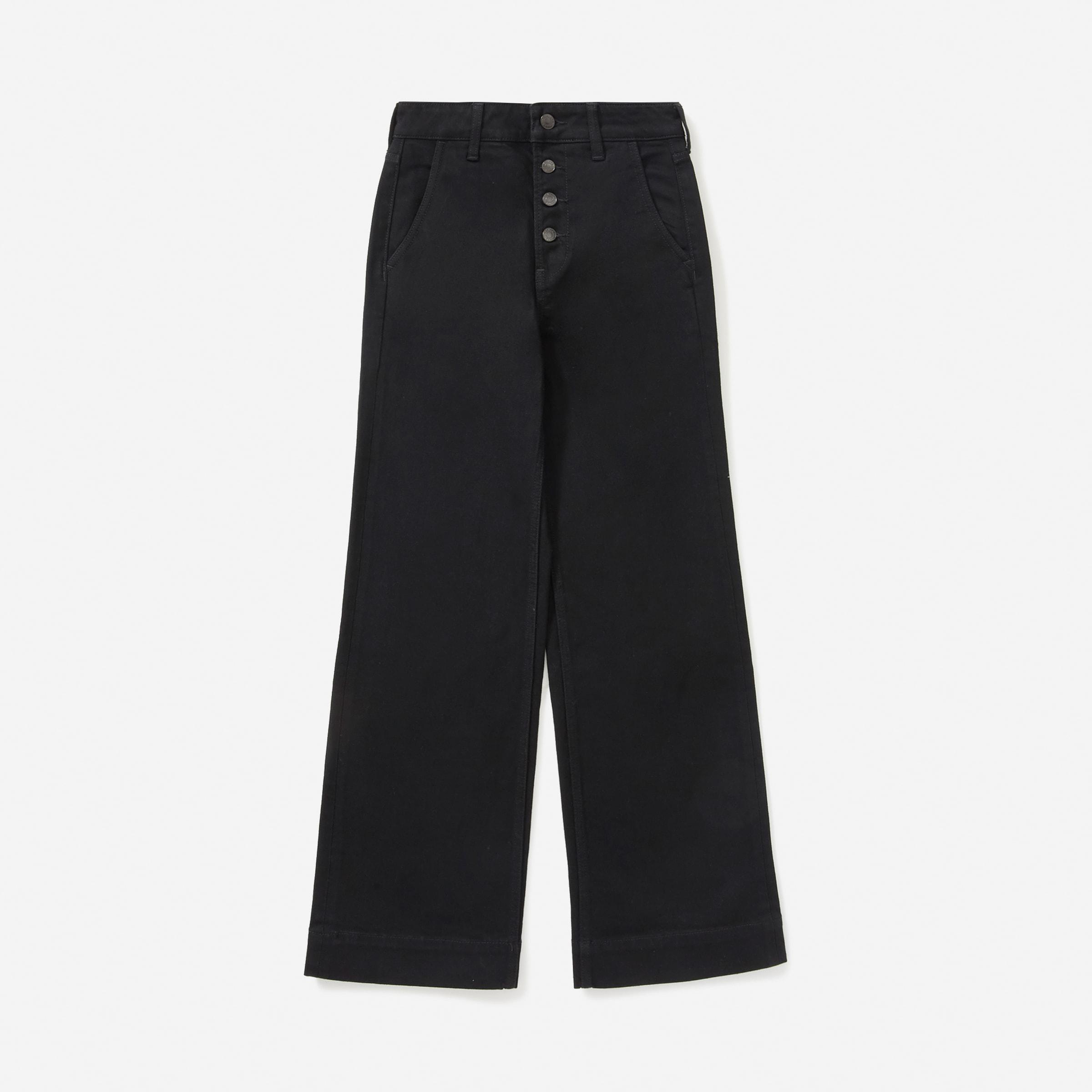 The Button-Fly Wide-Leg Jean 5