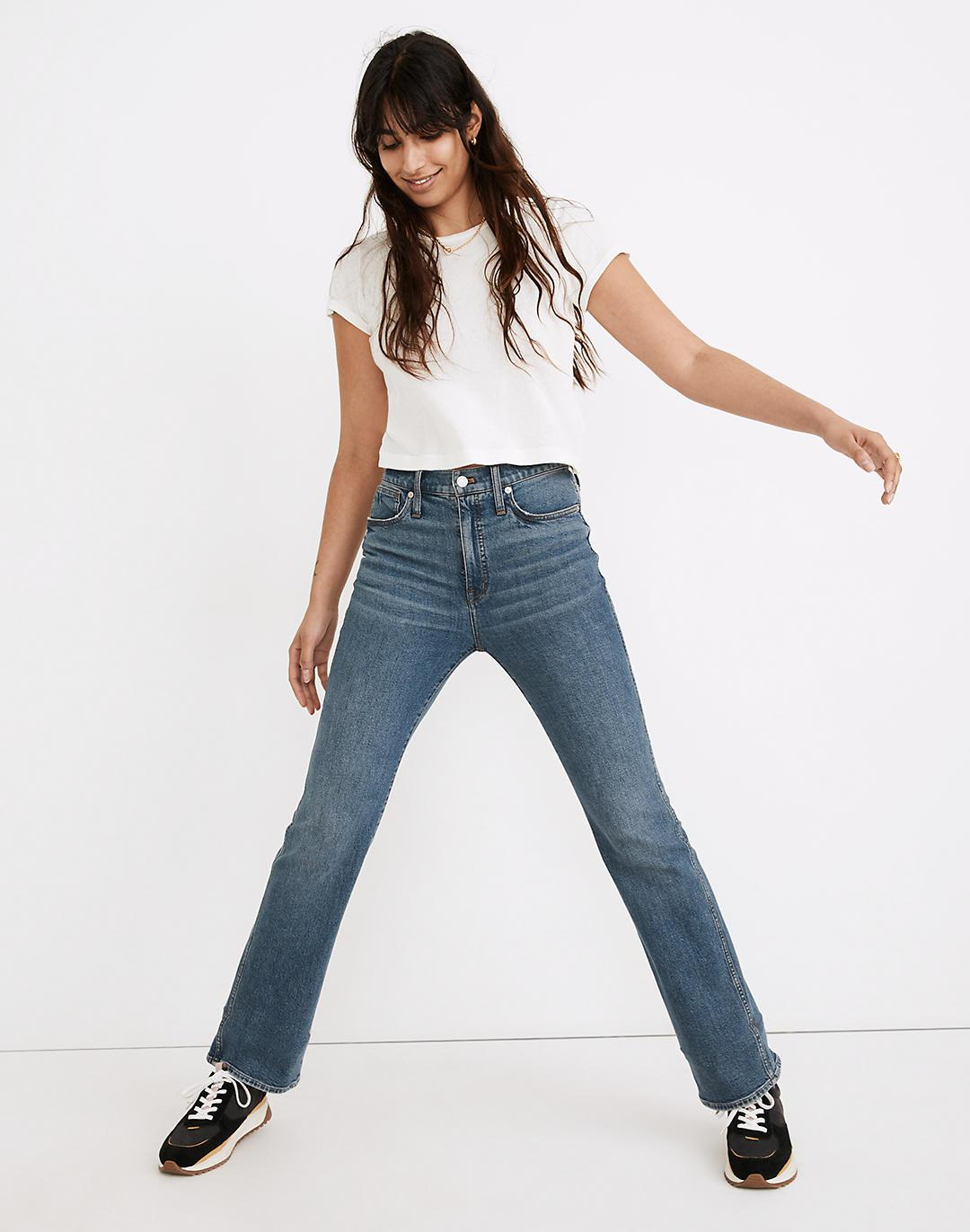 Tall High-Rise Bootcut Jeans in Edgewood Wash