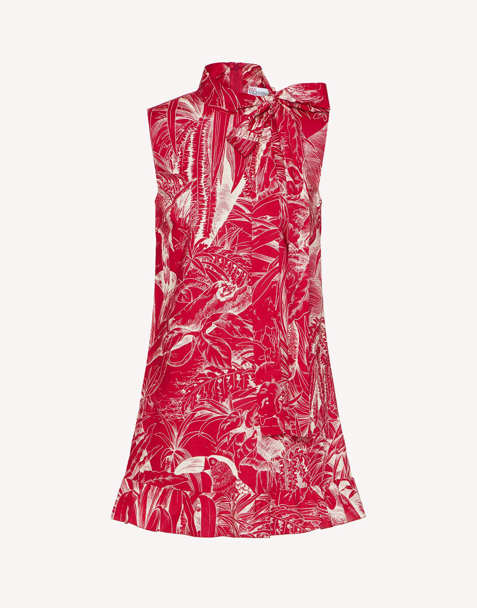 COTTON TOP WITH JUNGLE TOILE PRINT 4