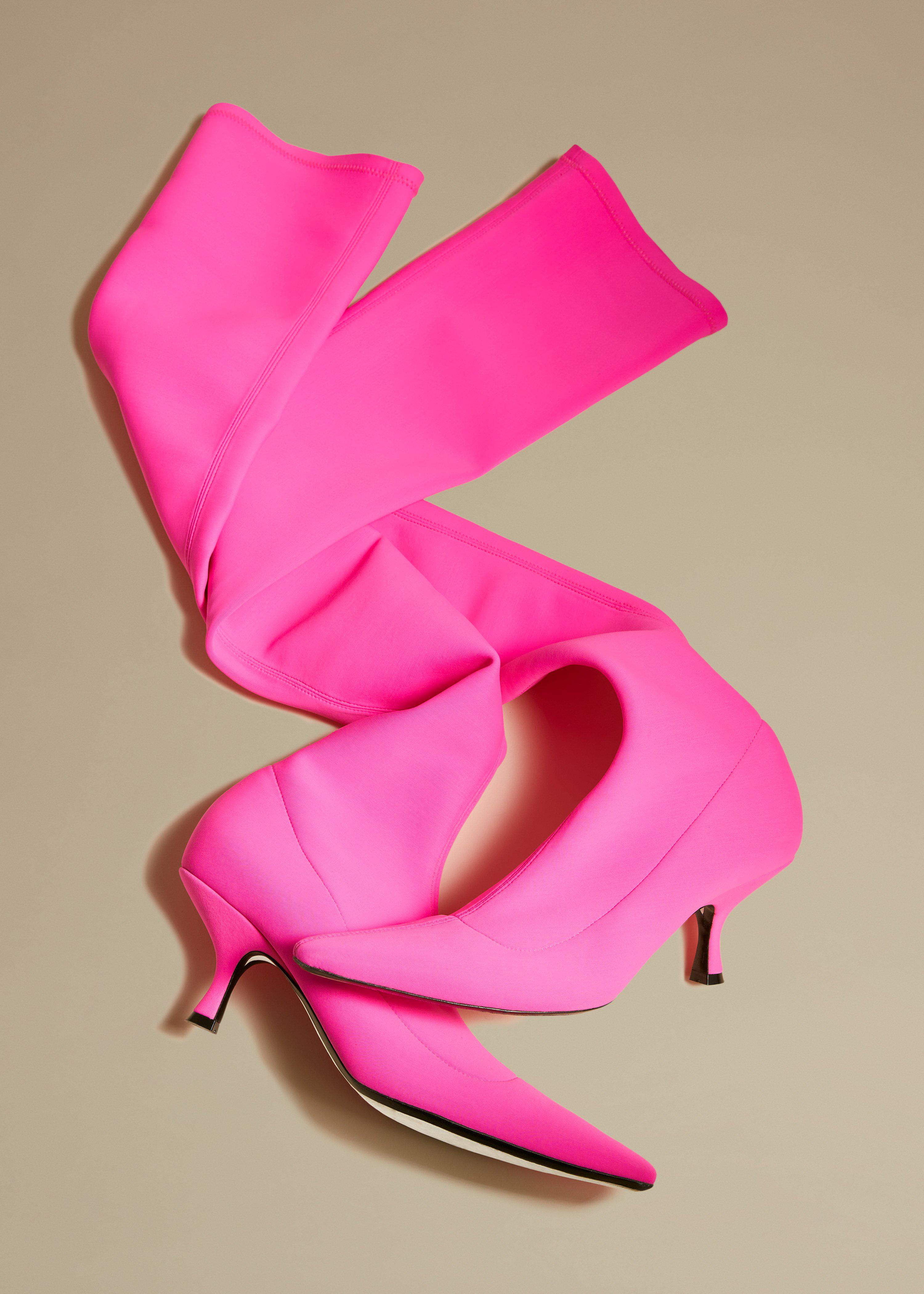 The Taylor Over-the-Knee Boot in Pink