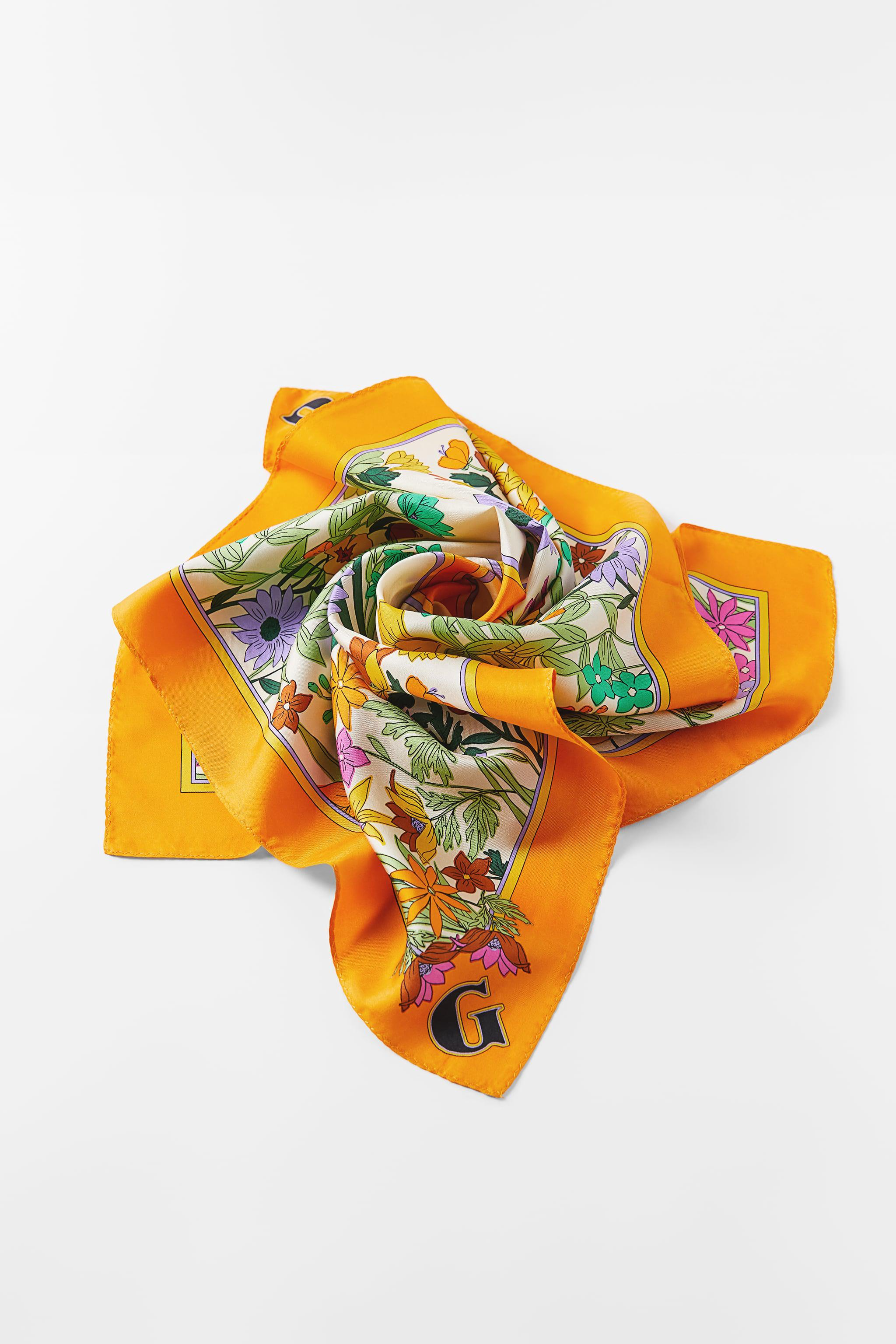 INITIAL SILK SCARF SPECIAL EDITION 1