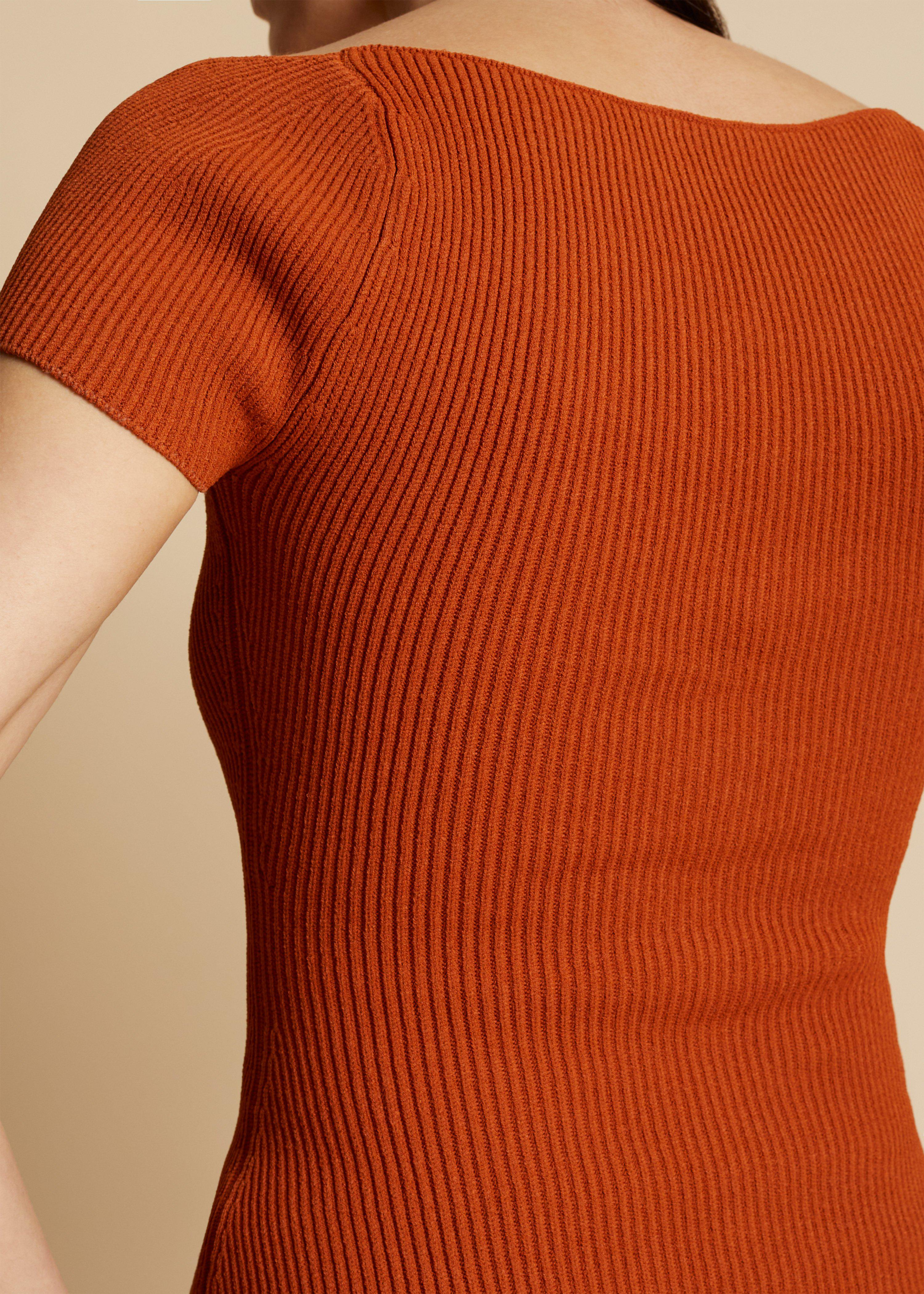 The Ista Top in Sienna 3