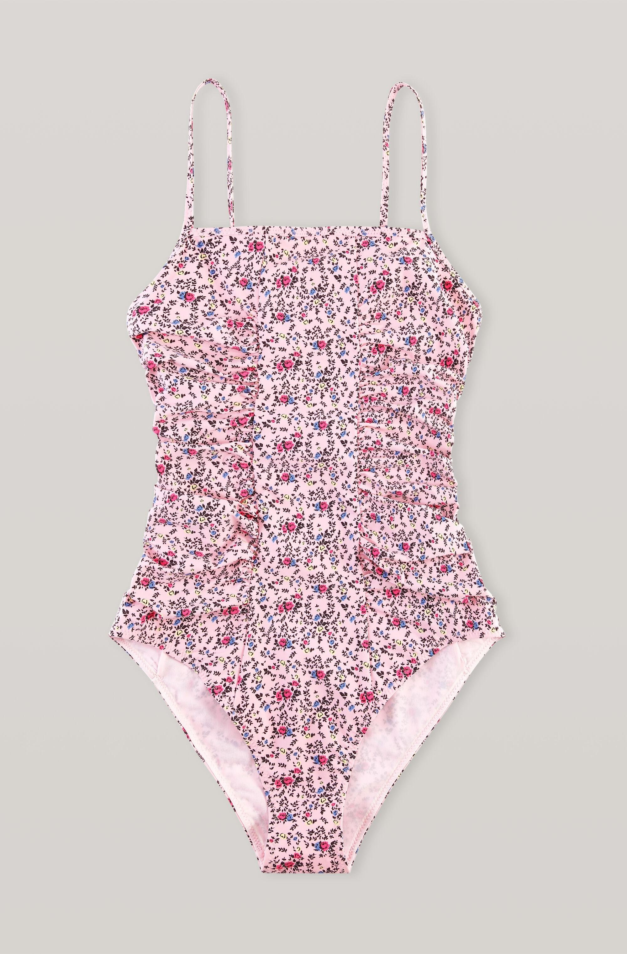 Recycled Matte Ruched Swimsuit