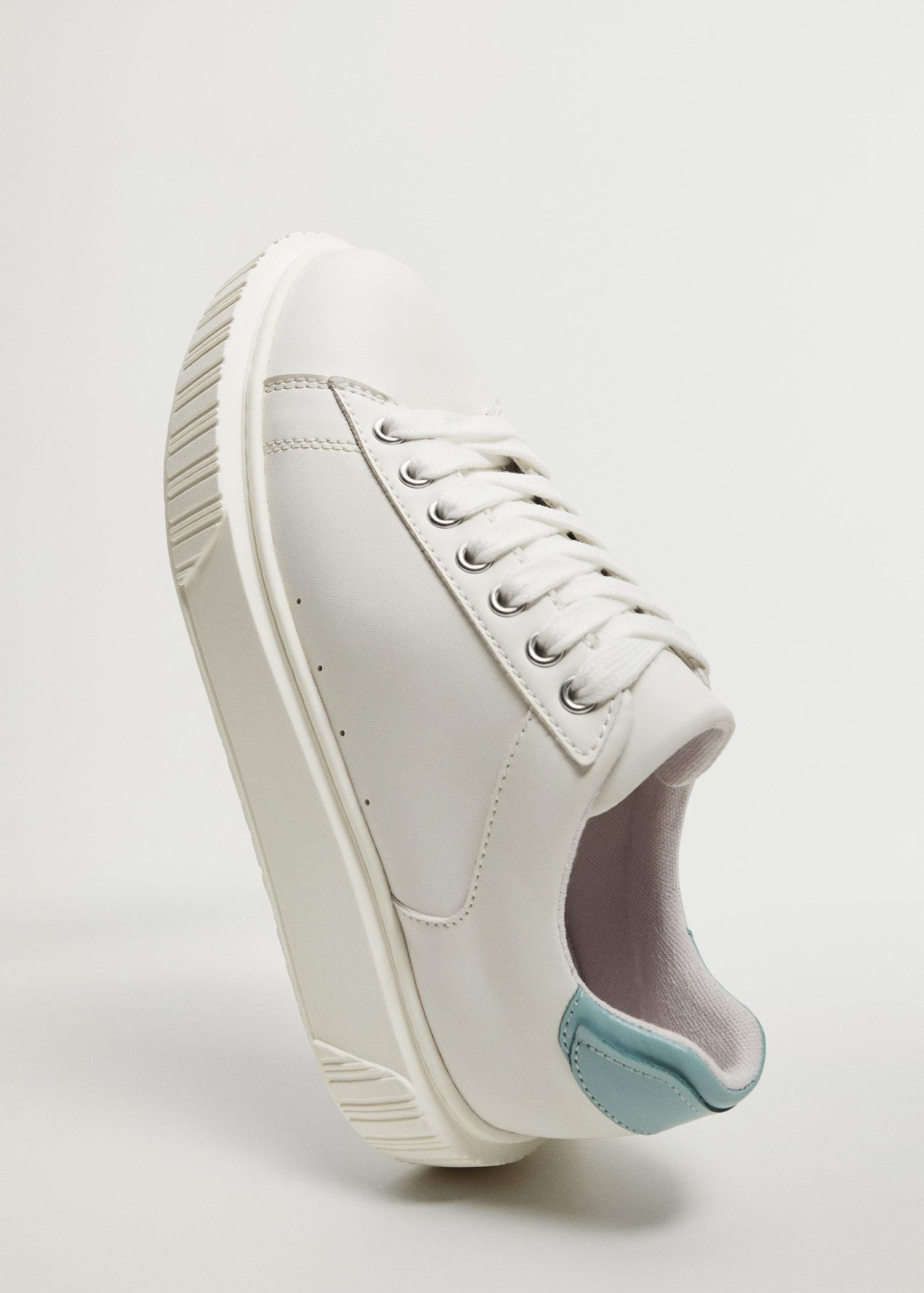 Platform lace-up sneakers 3