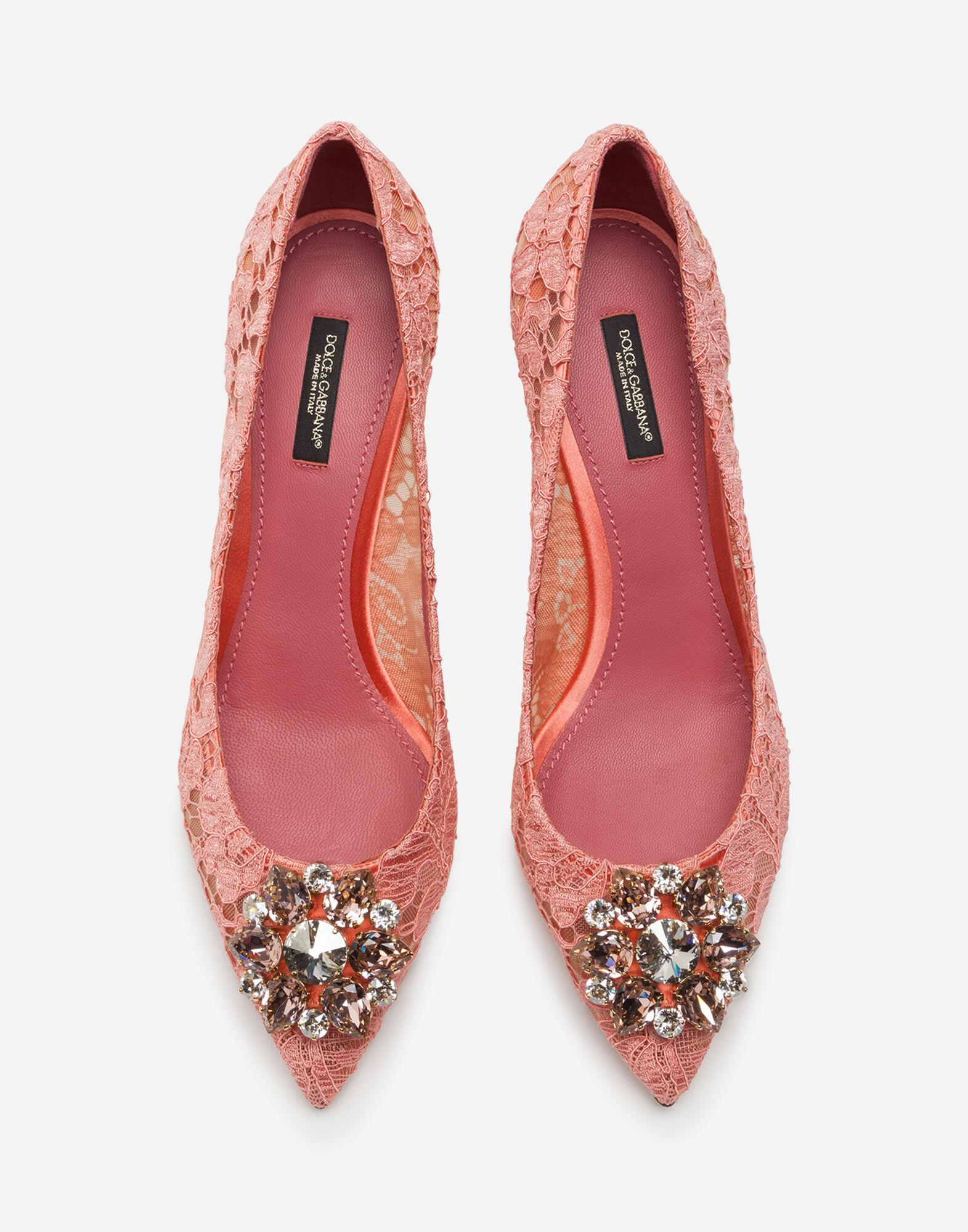 Taormina lace pumps with crystals 3