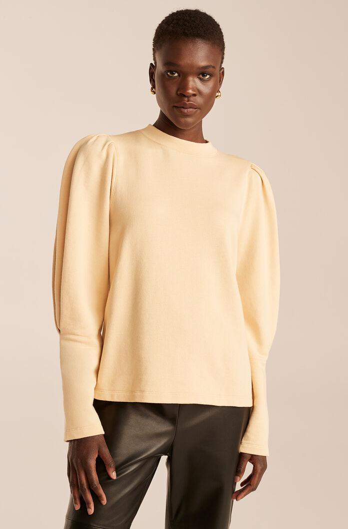 PUFF SLEEVE KNIT TOP 3