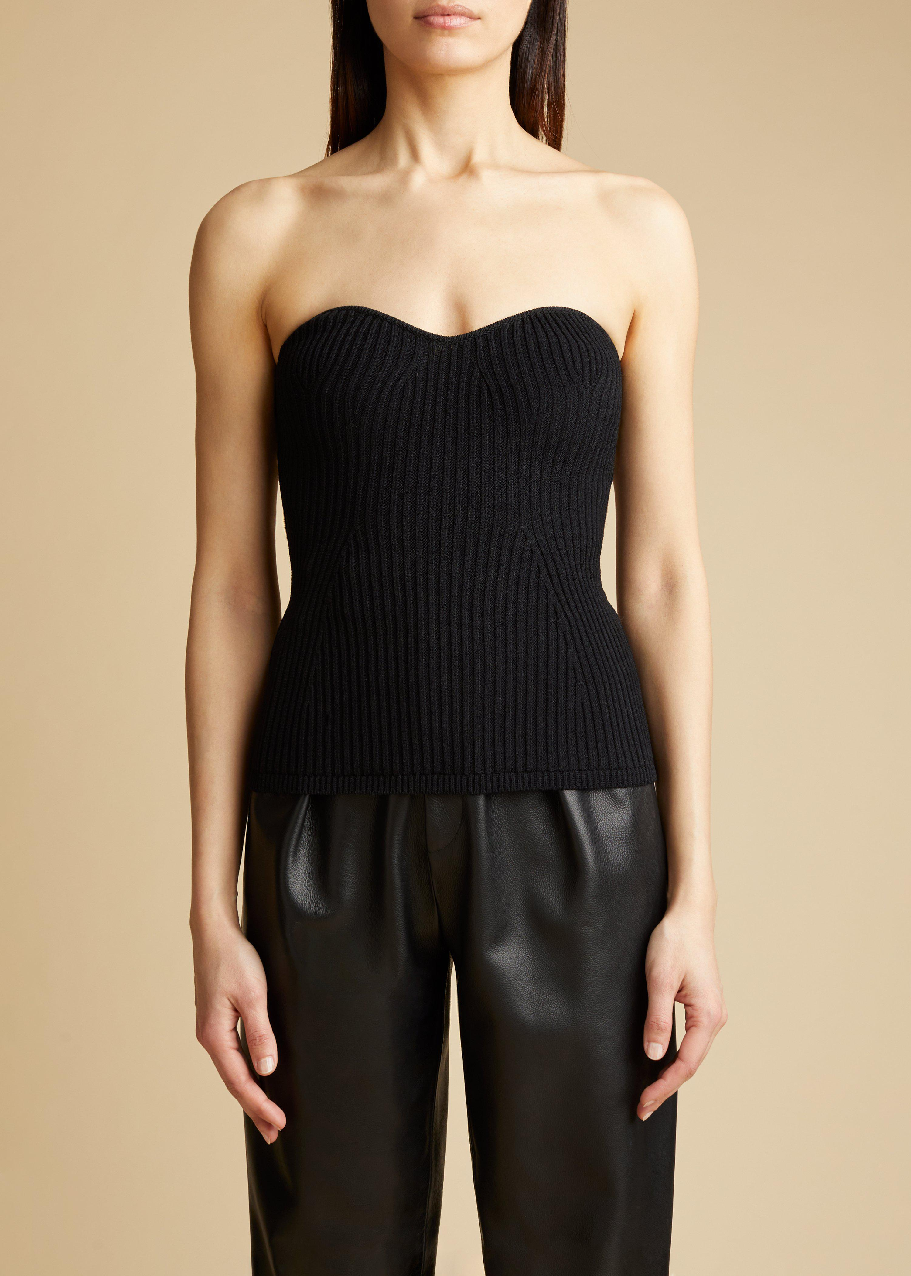 The Lucie Top in Black 0