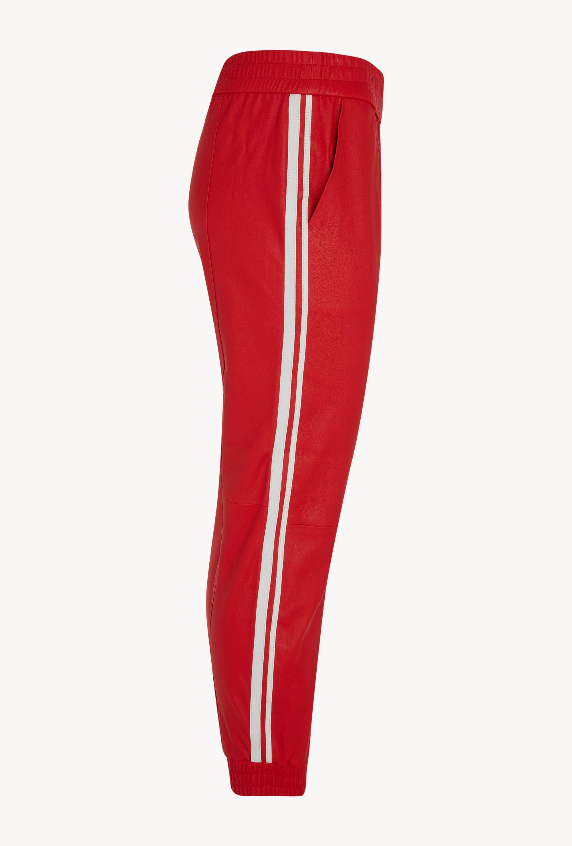 Tomato Athletic Slim Fit Leather Jogger