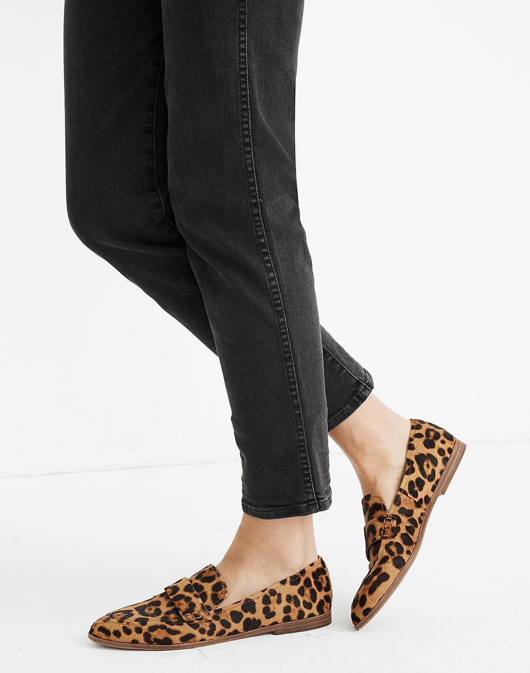 The Alex Loafer in Leopard Calf Hair 3